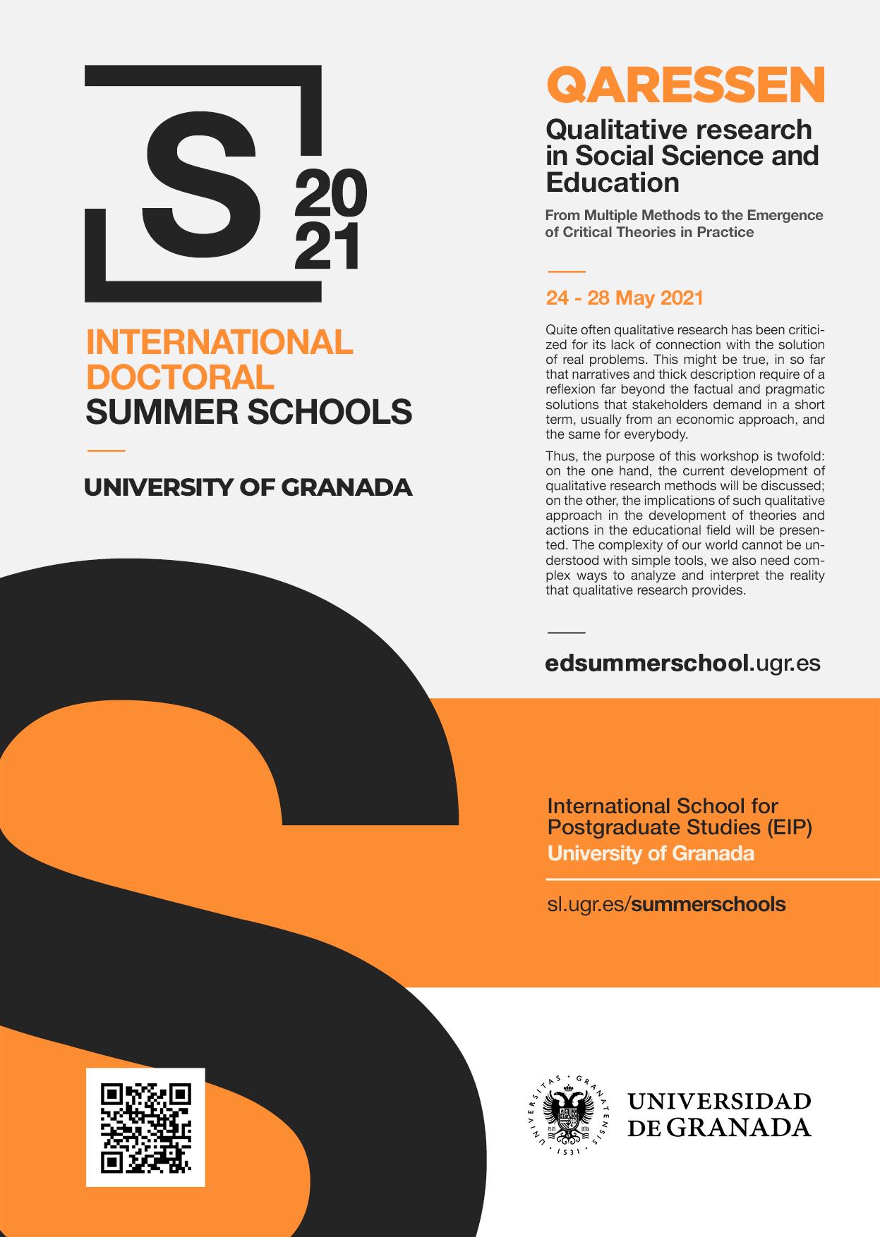 La UGR presenta la primera Escuela Internacional de Doctorado de Ciencias de la Educación