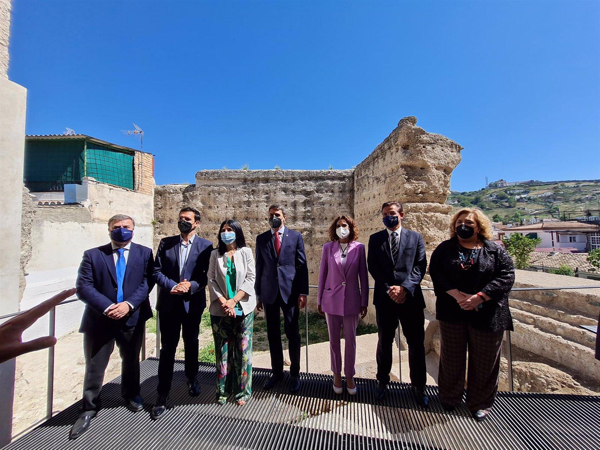 Las obras de rehabilitación de la muralla del Albaicín superan los 3,5 millones de euros