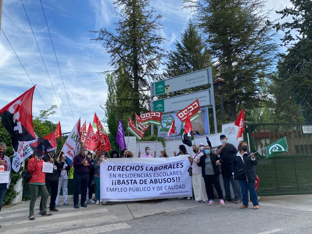 El Comité de Empresa de Educación denuncia las condiciones laborales en las residencias escolares y la falta de cobertura de más de 100 plazas