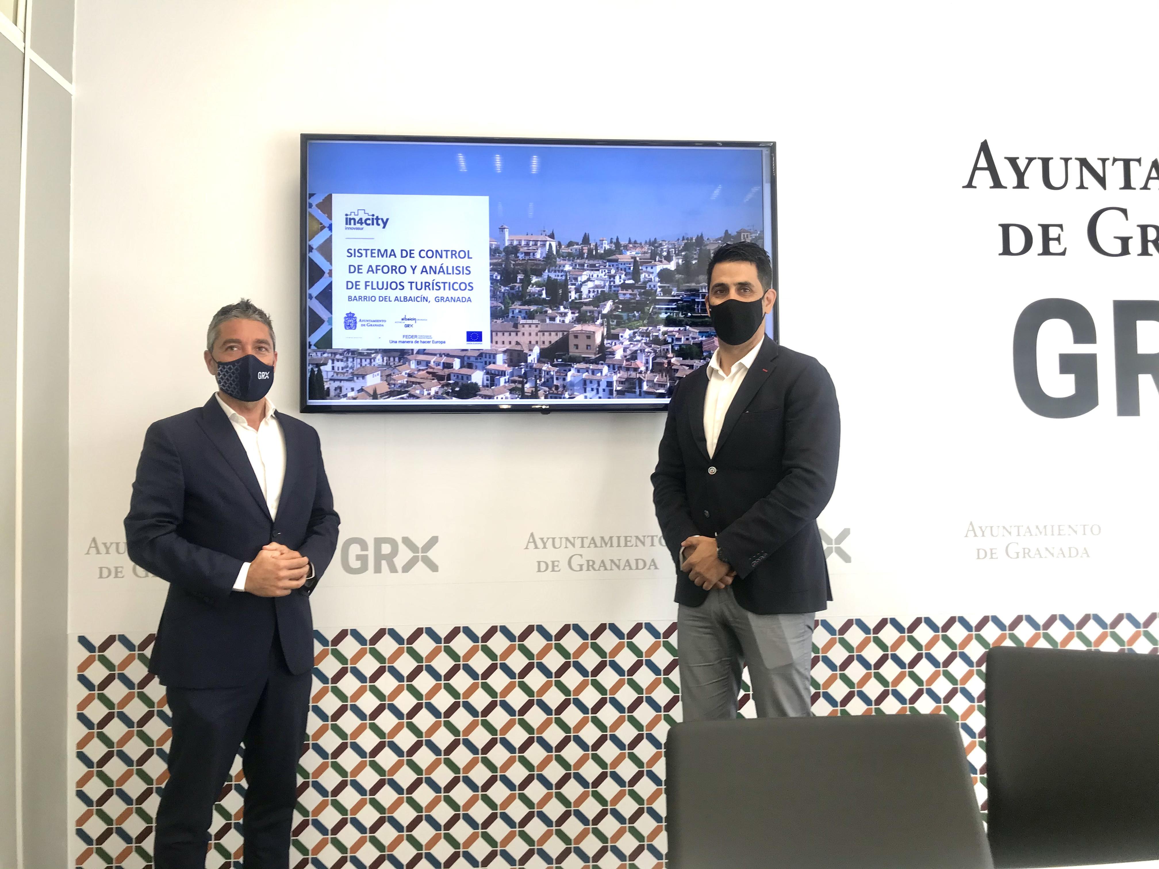 Granada usará «inteligencia artificial» para controlar los flujos turísticos y evitar aglomeraciones en el Albaicín