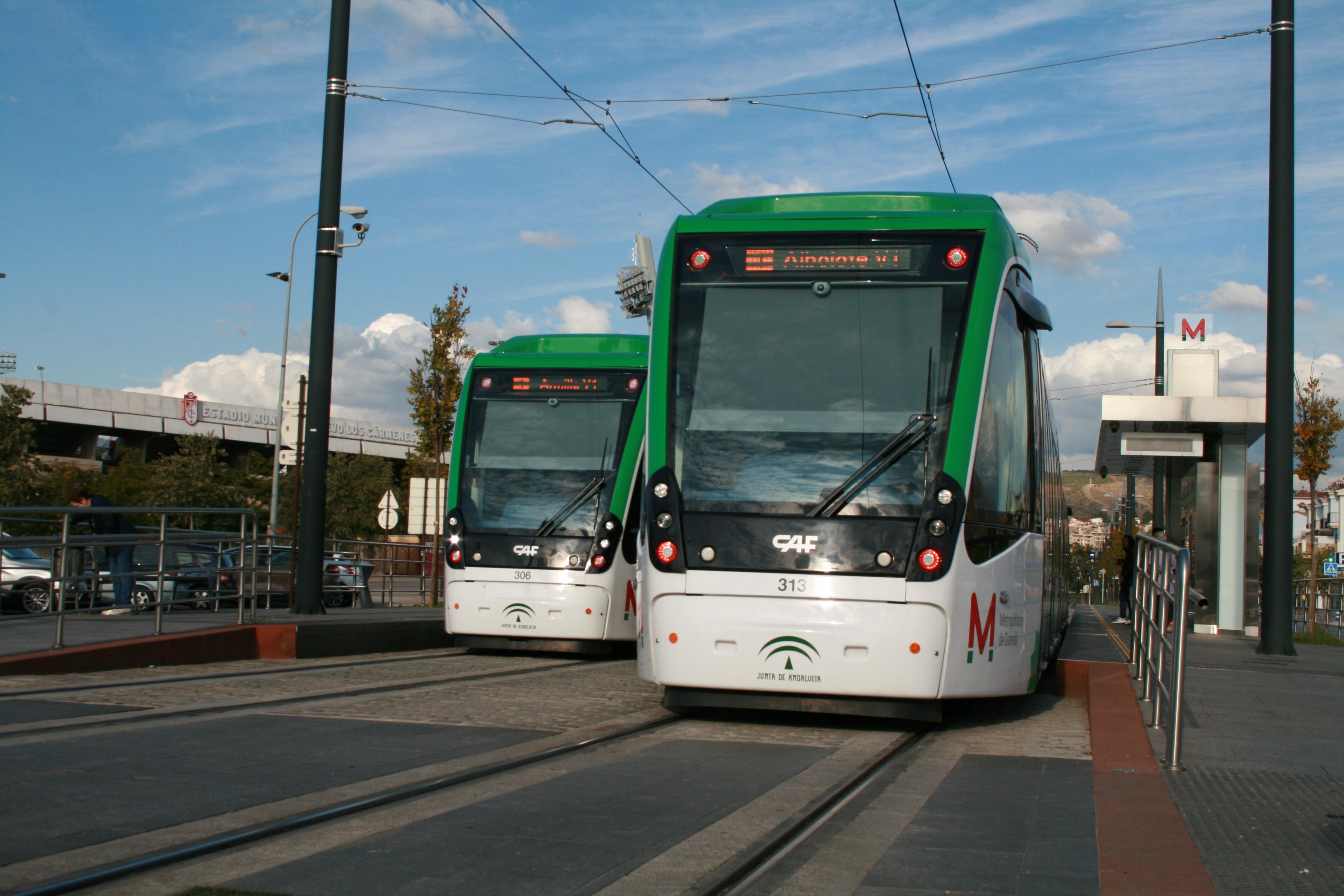 Adjudicado el estudio y asistencia para mejorar la velocidad comercial de Metro de Granada