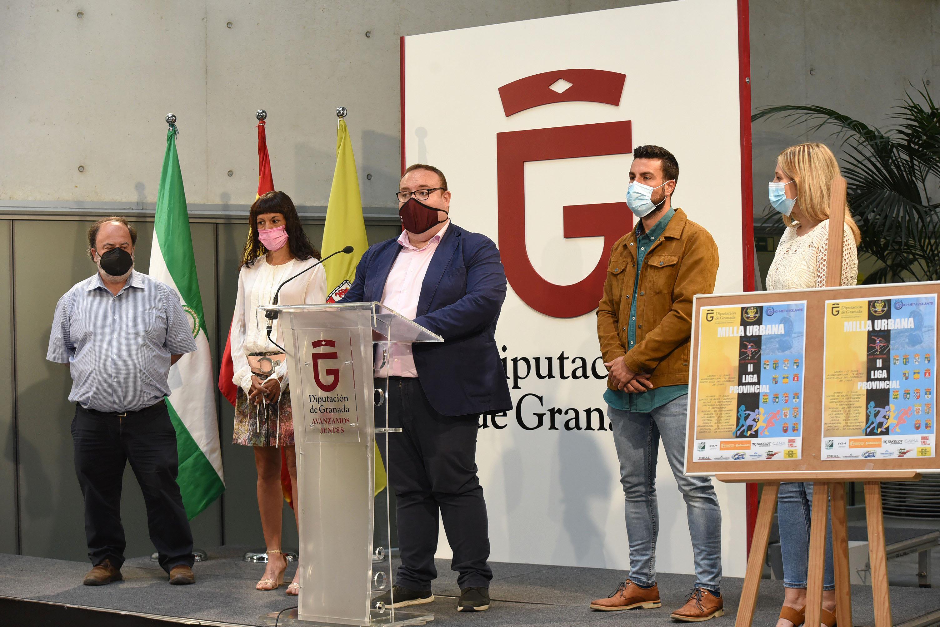 15 municipios acogerán el circuito provincial de Diputación de la milla urbana
