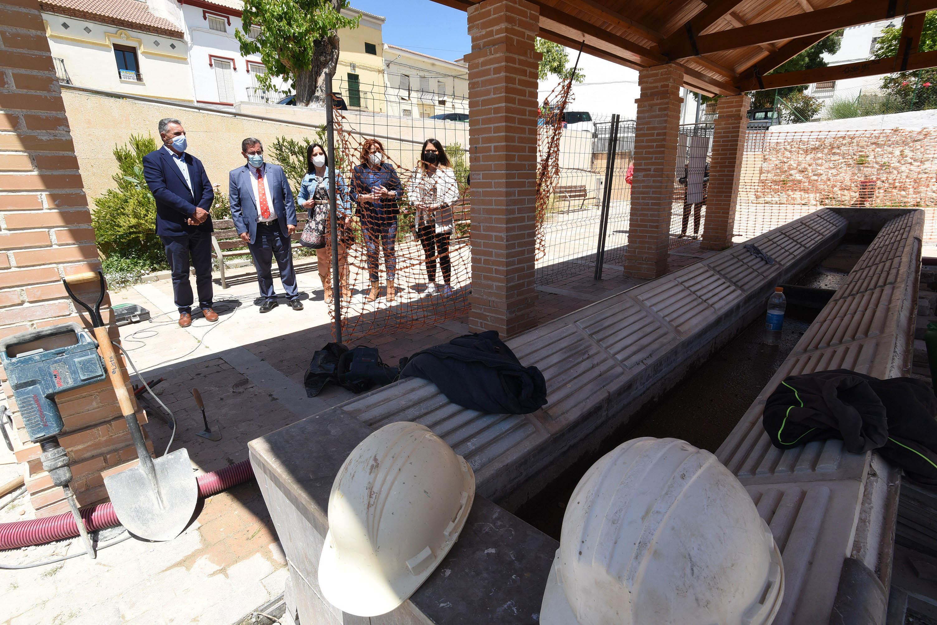 Diputación invierte 1,5 millones en diferentes actuaciones en Moraleda de Zafayona