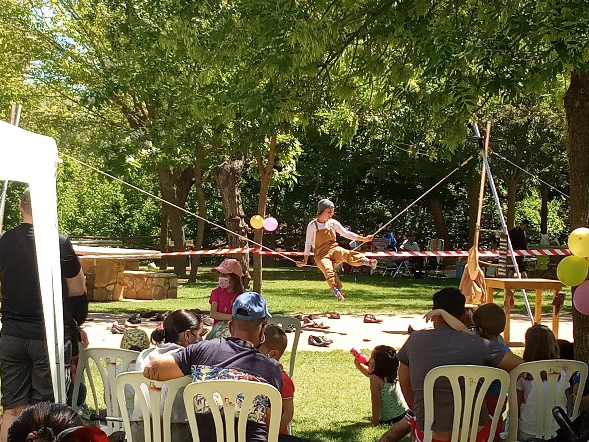Las Gabias programa espectáculos infantiles en todos los parques del municipio dirigidos a las familias