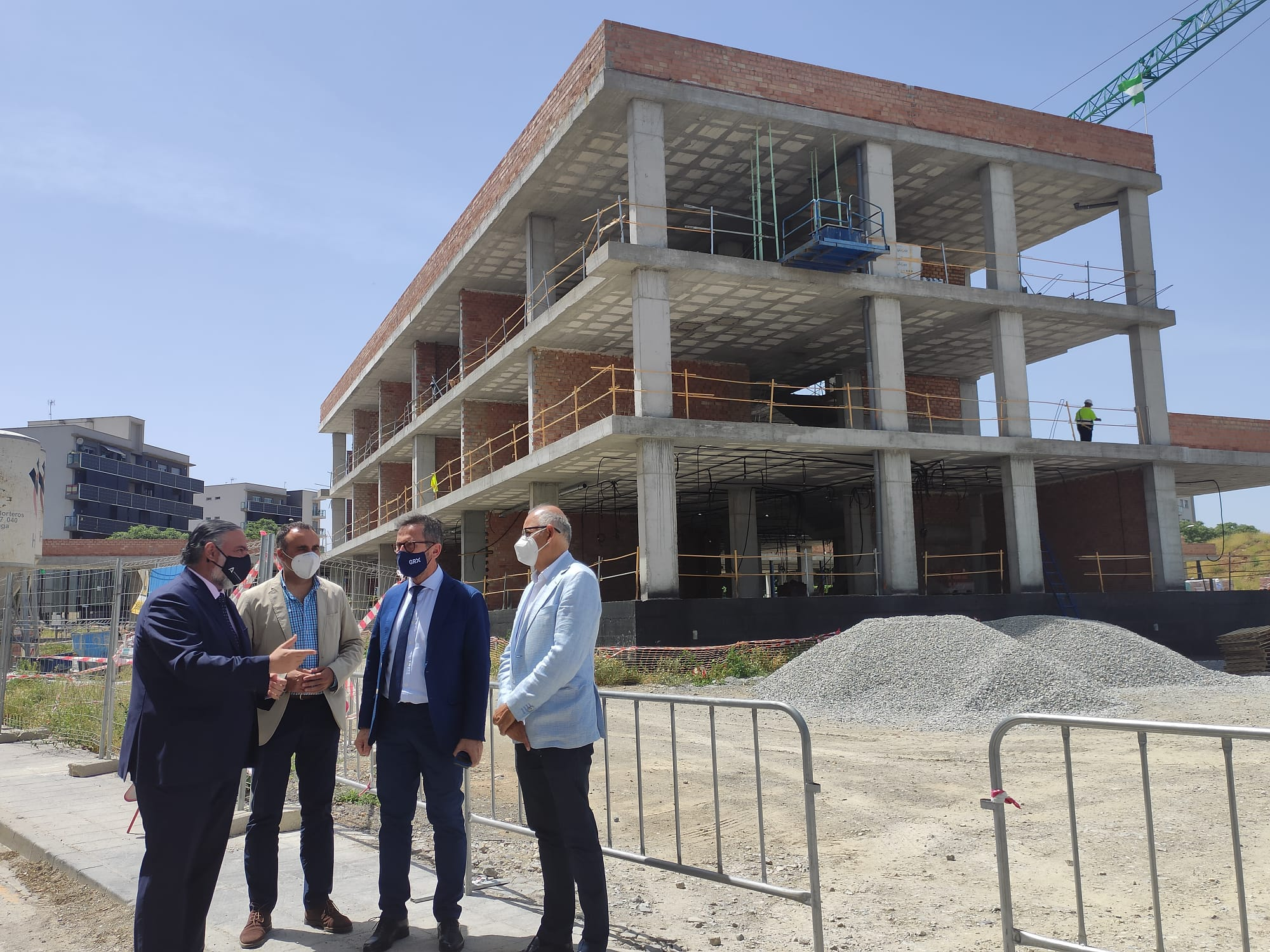 Educación invierte 3,7 millones de euros en obras de ampliación y mejora de los centros educativos de Alhendín