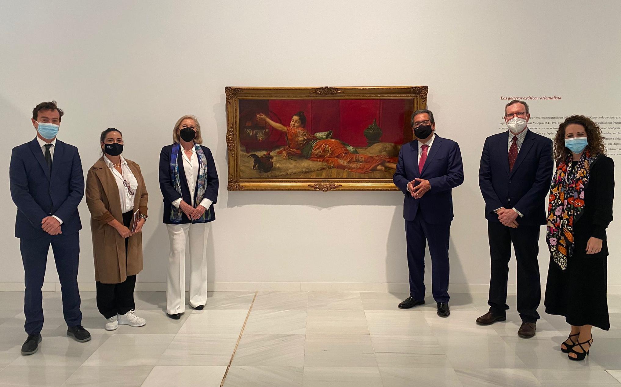 El Centro Cultural CajaGranada muestra las 'Obras emblemáticas del siglo XIX en la Colección Fundación Cajasol'