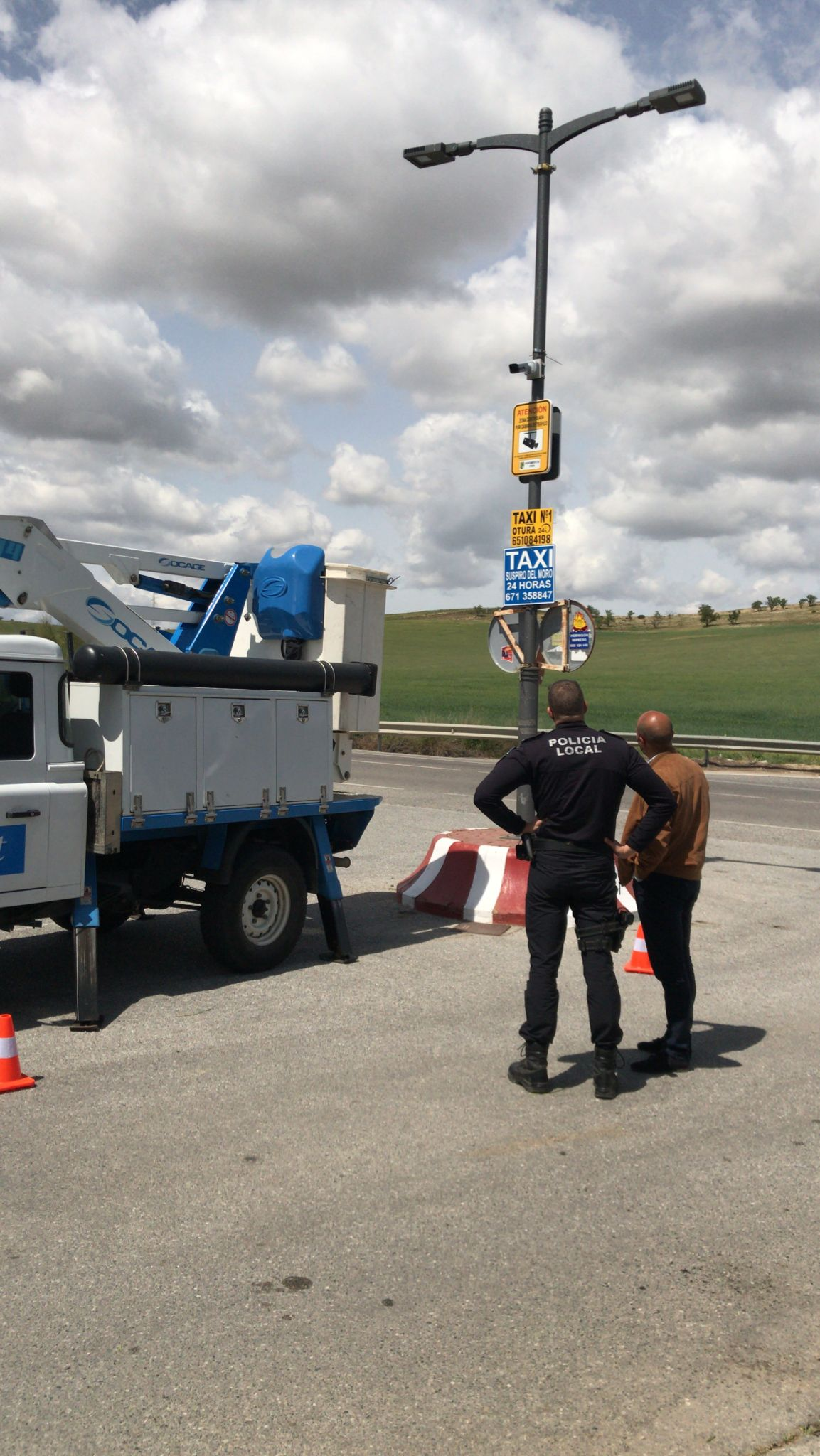 La Policía Local de Otura controlará el tráfico y mejorará la seguridad mediante cámaras de videovigilancia