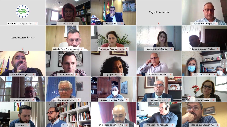 La FAMP analiza el nuevo Anteproyecto de Ley de las Policías Locales de Andalucía