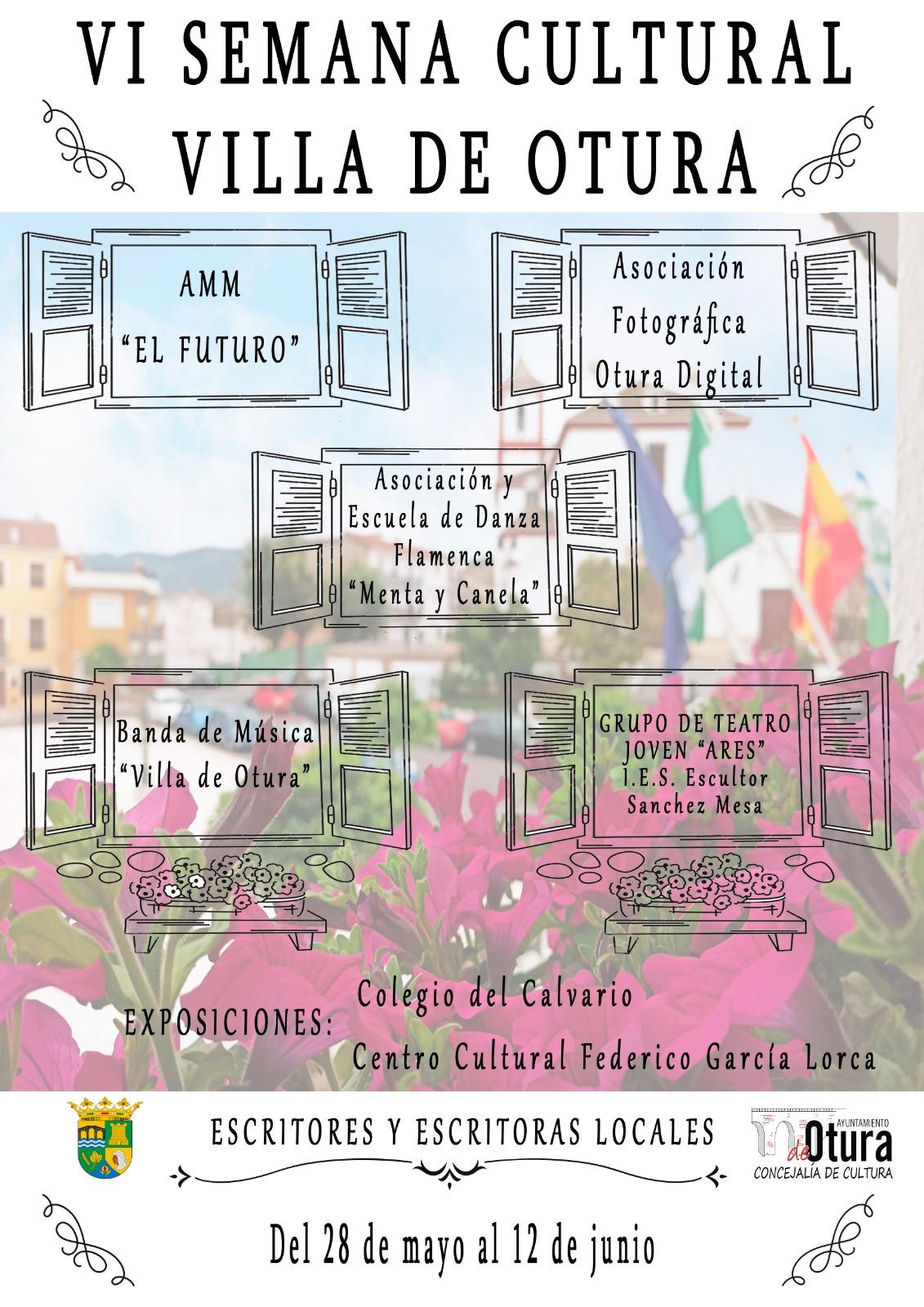 Fotografía, flamenco, música y teatro en la VI Semana Cultural de Otura