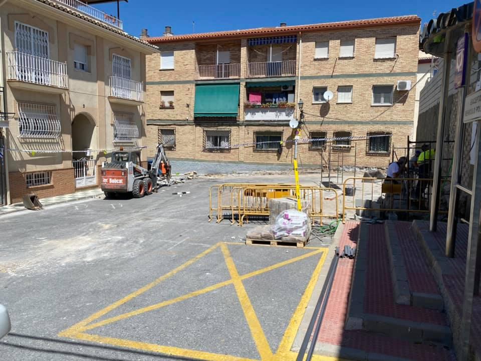 Pulianas invierte 150.000 euros para obras de remodelación de sus barrios