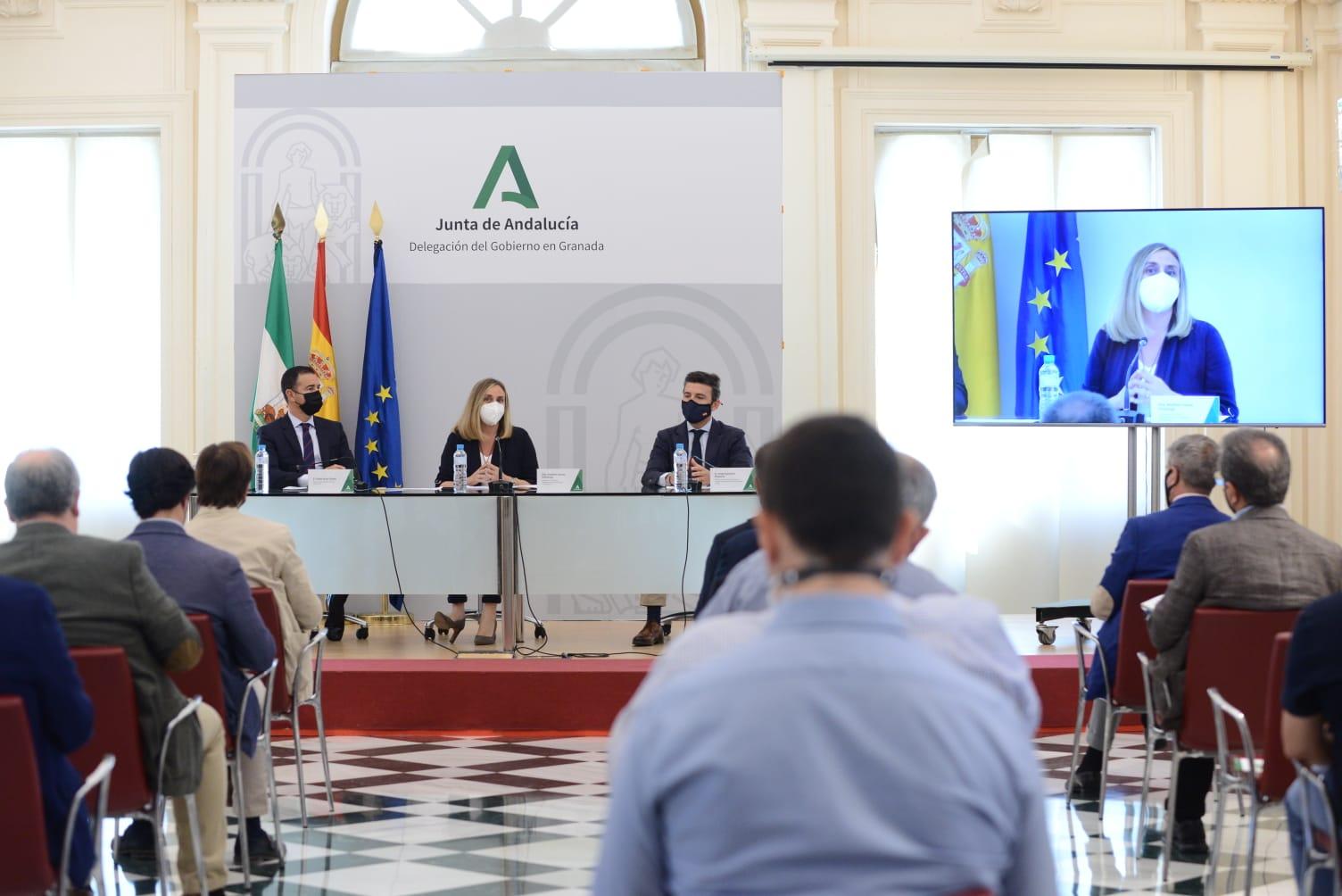 La Junta avanza en el desarrollo del Plan de Transporte Metropolitano del Área de Granada