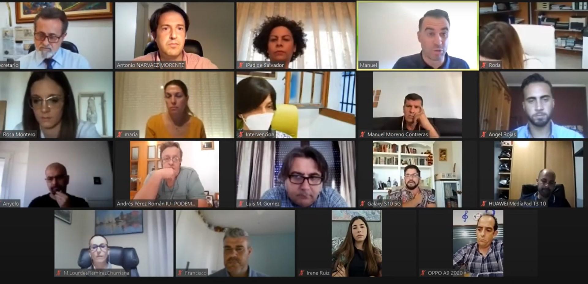 El alcalde de Churriana de la Vega (PP) impide que el caso del concejal tránsfuga se eleve al Consejo Consultivo como pedía el PSOE