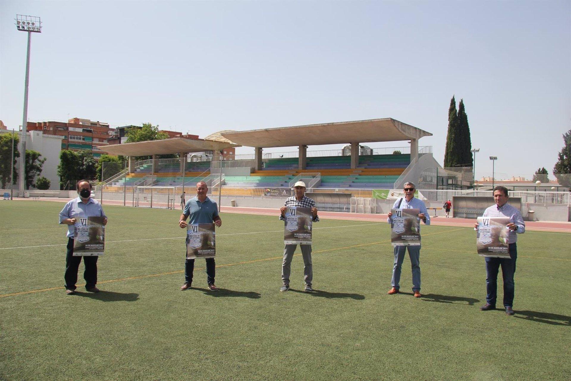 Cerca de 400 atletas participarán en Granada en el VI Meeting de Atletismo Paco Sánchez Vargas