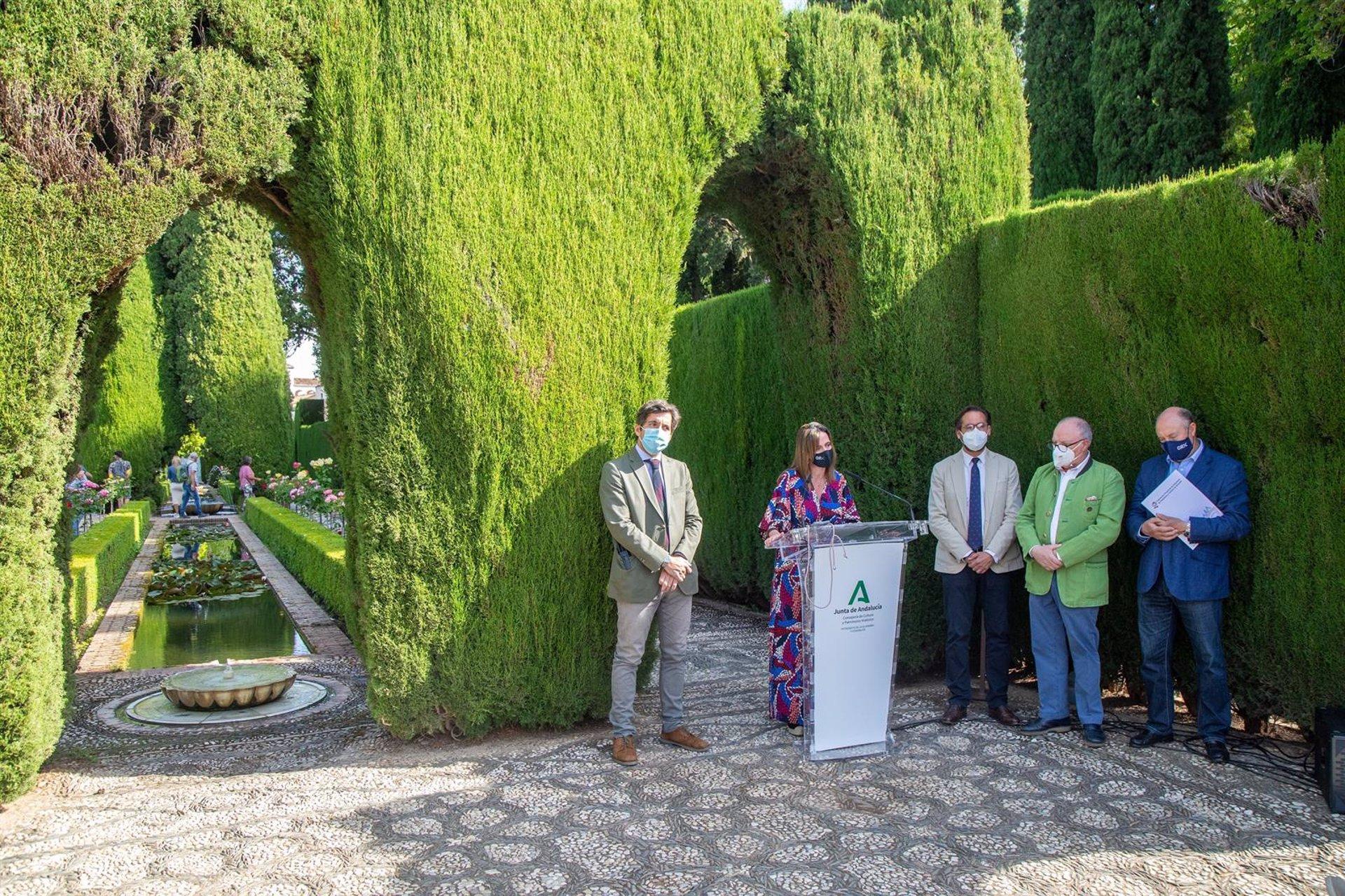 La Alhambra apoya a artistas y promotores con un programa musical para septiembre en el Generalife