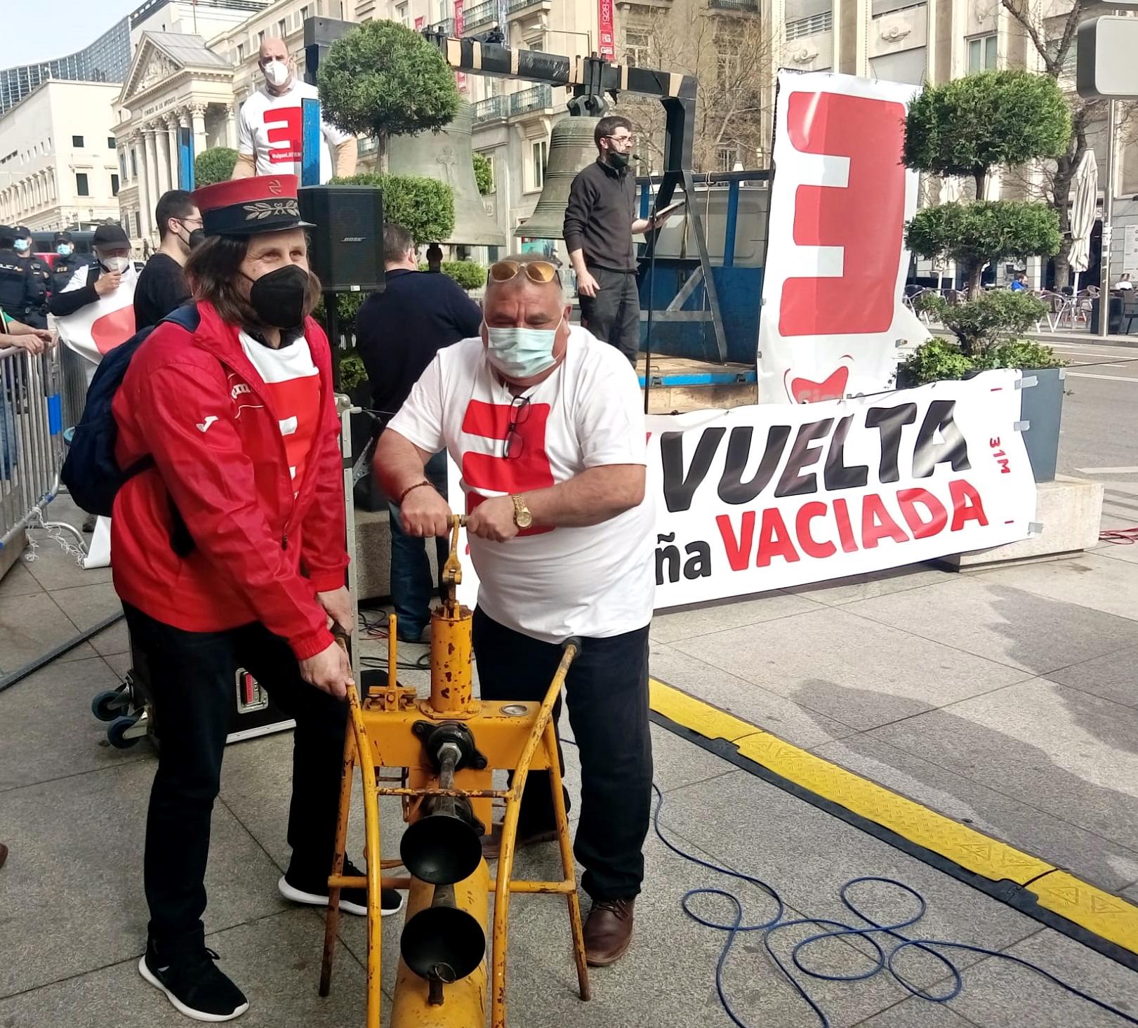 La España Vaciada presenta en el Congreso medidas contra la despoblación