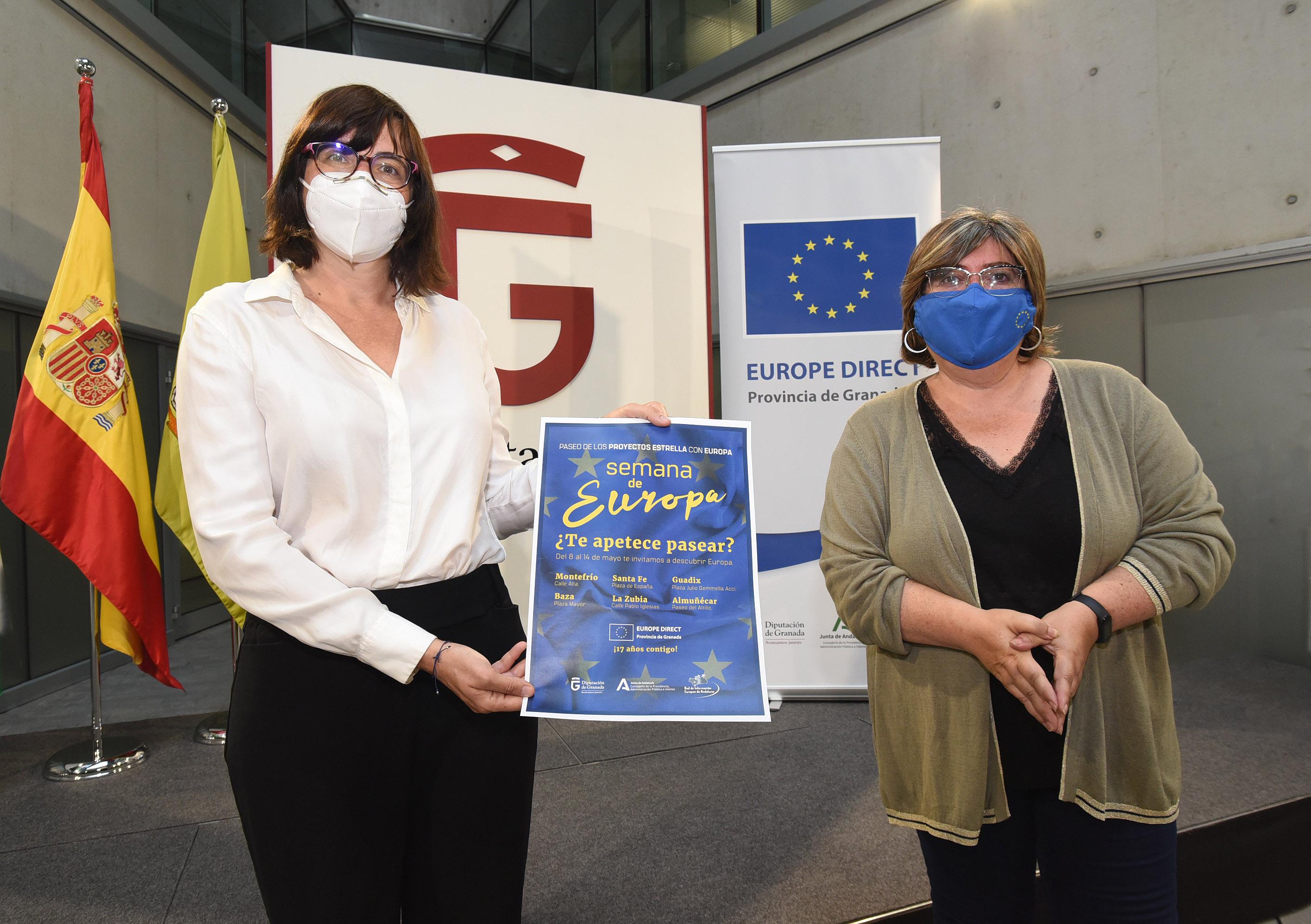 El centro Europa Direct de la Diputación renueva cuatro año más su vínculo con la Comisión Europea