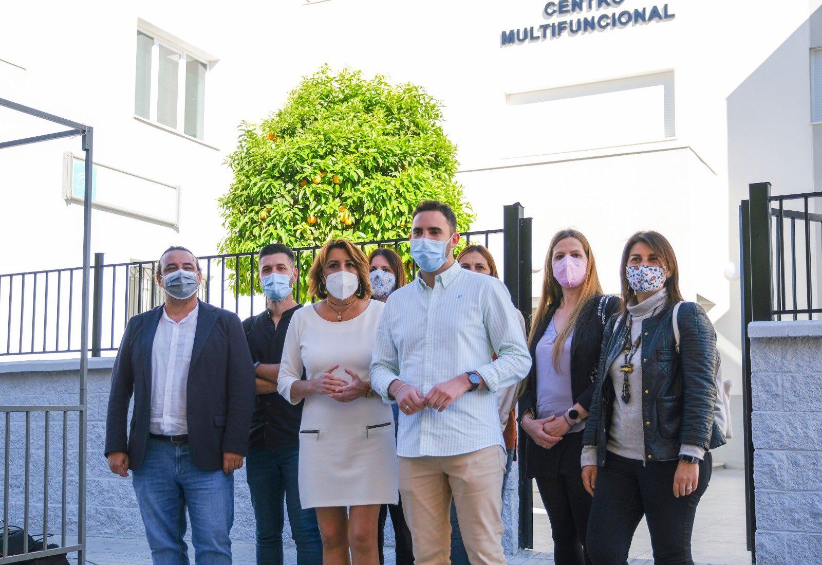 Susana Díaz urge a la Junta a abrir el consultorio médico de Híjar «cerrado en plena pandemia»