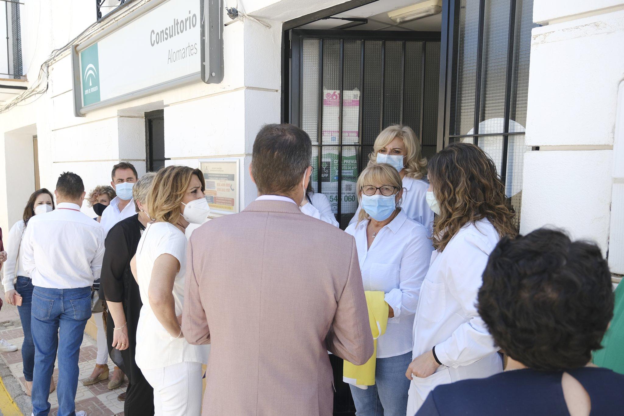 Díaz exige a Moreno un consultorio médico «digno, en condiciones y que cubra las necesidades» de Alomartes