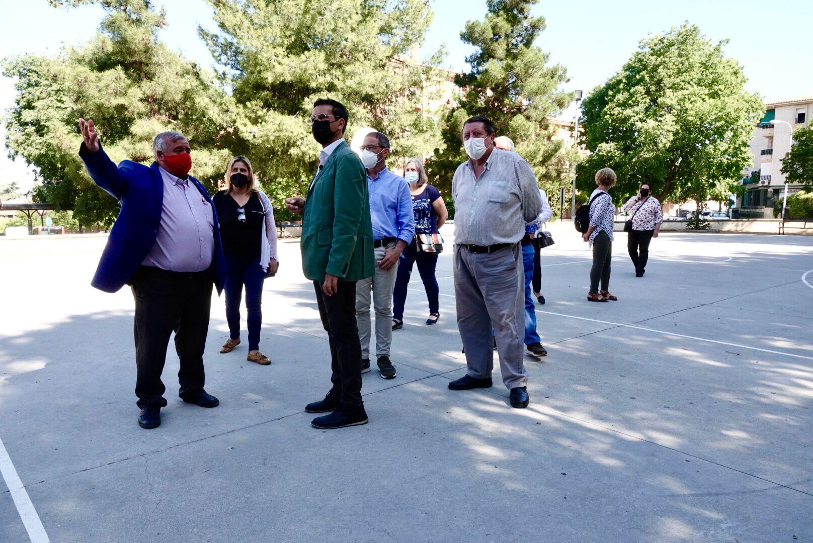 Cuenca exige el arreglo de la plaza Parque Nueva Granada y dotar de nuevos espacios públicos