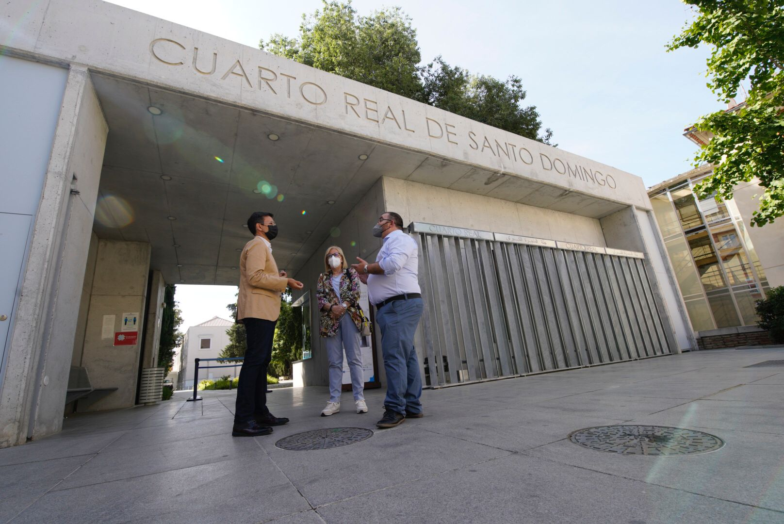 Cuenca critica el «cierre y privatización del parque del Realejo