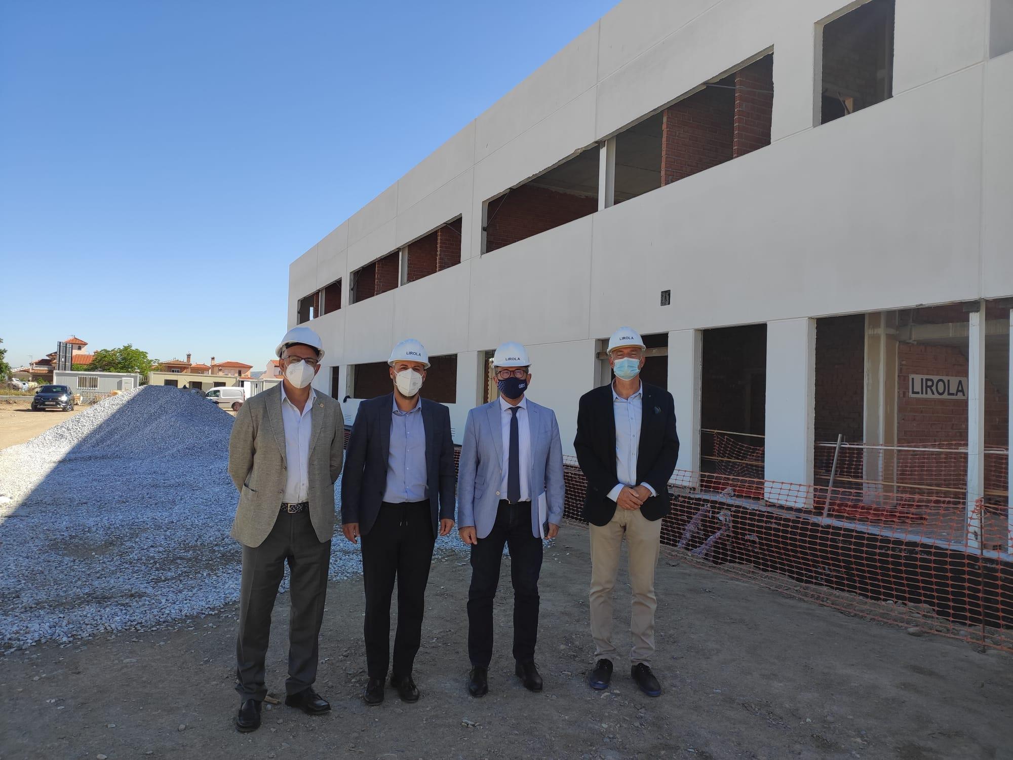 Educación invierte cerca de 7 millones de euros en obras de ampliación y mejora de los centros educativos de Ogíjares
