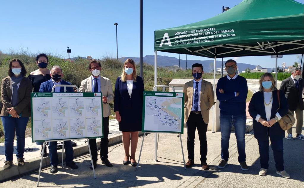 Puesto en marcha un nuevo servicio de transporte colectivo en La Zubia