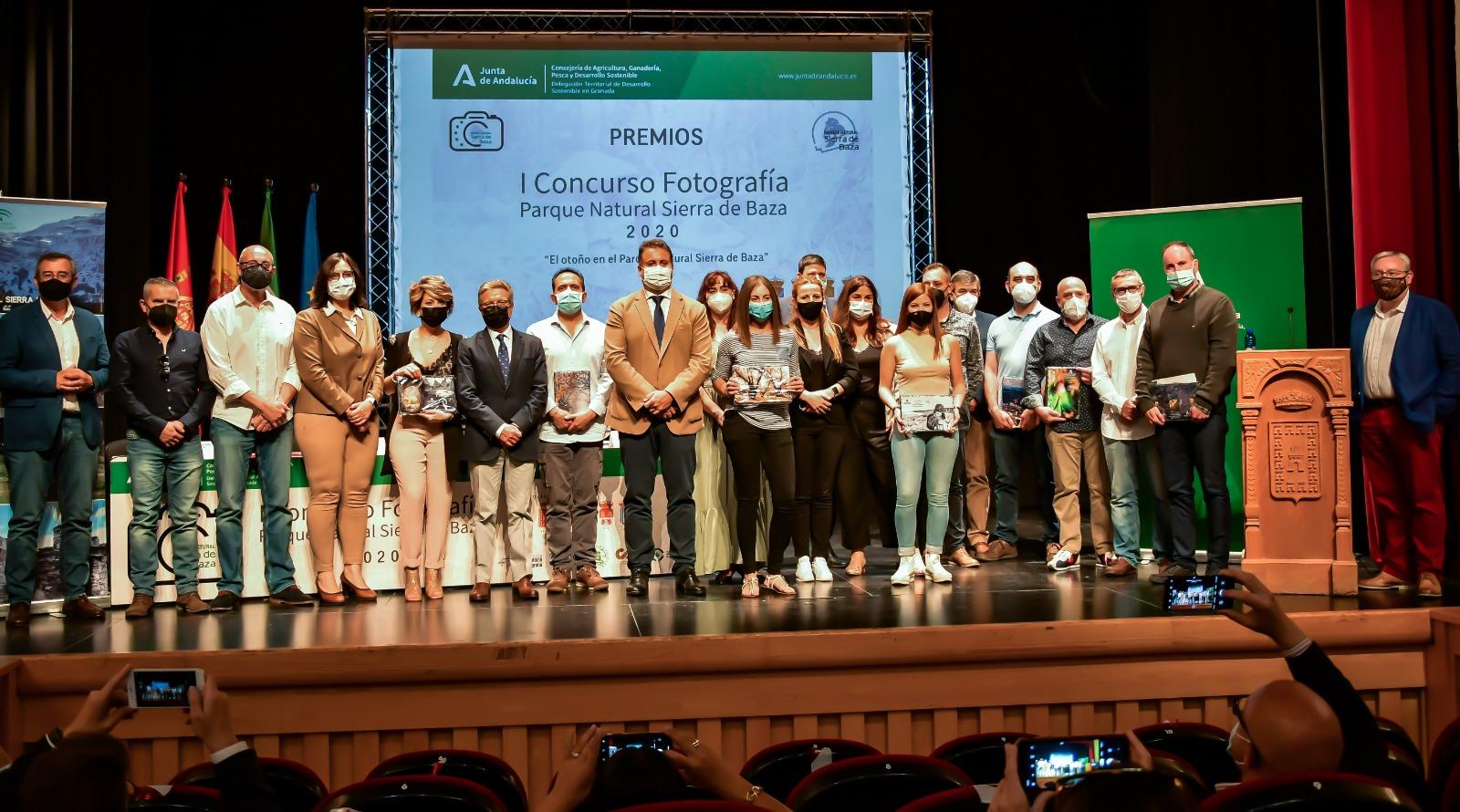 La Junta entrega los premios del I Concurso de fotografía Parque Natural Sierra de Baza