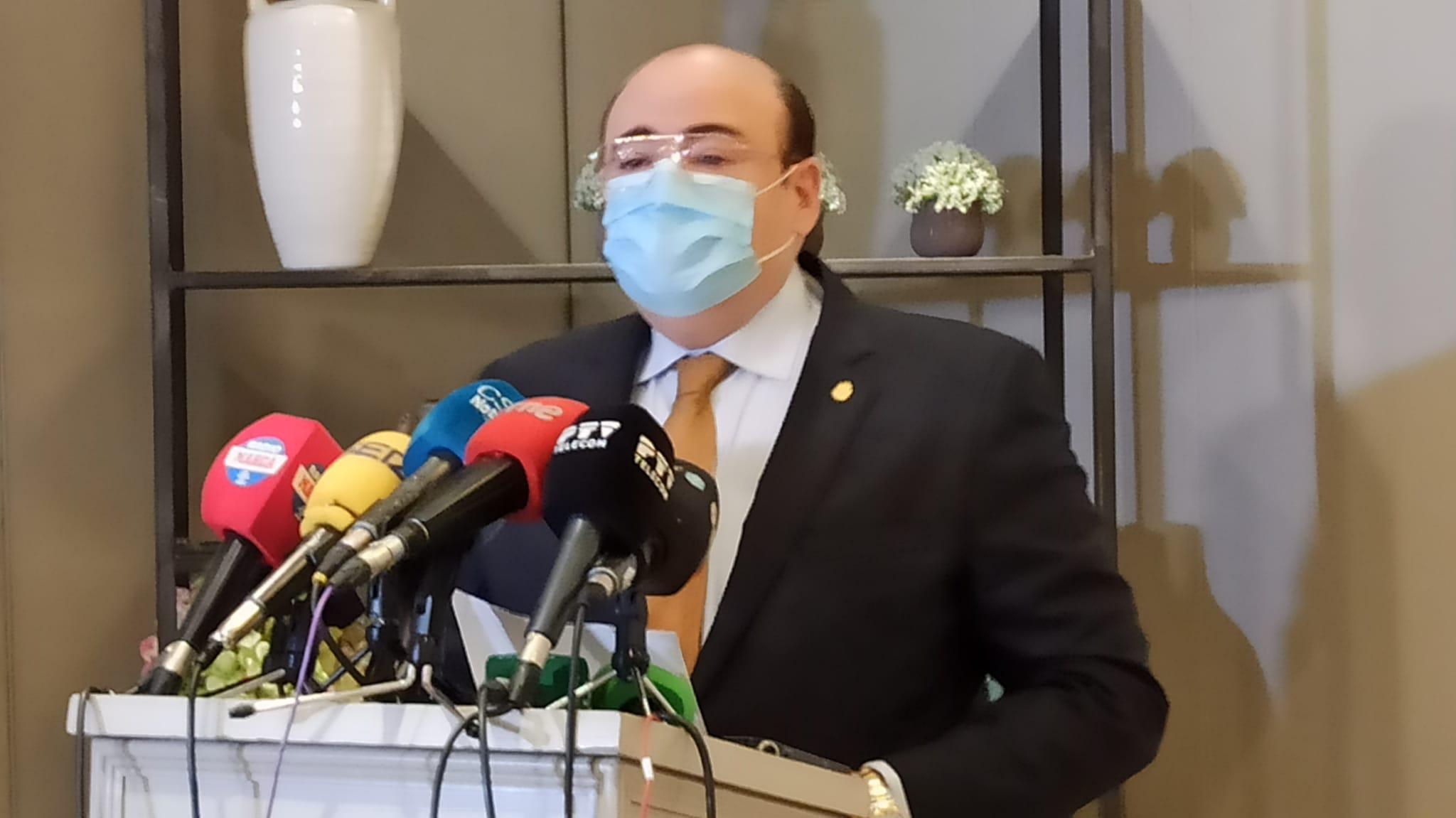 Sebastián Pérez se da de baja en el PP pero mantiene su acta y no descarta participar en una moción