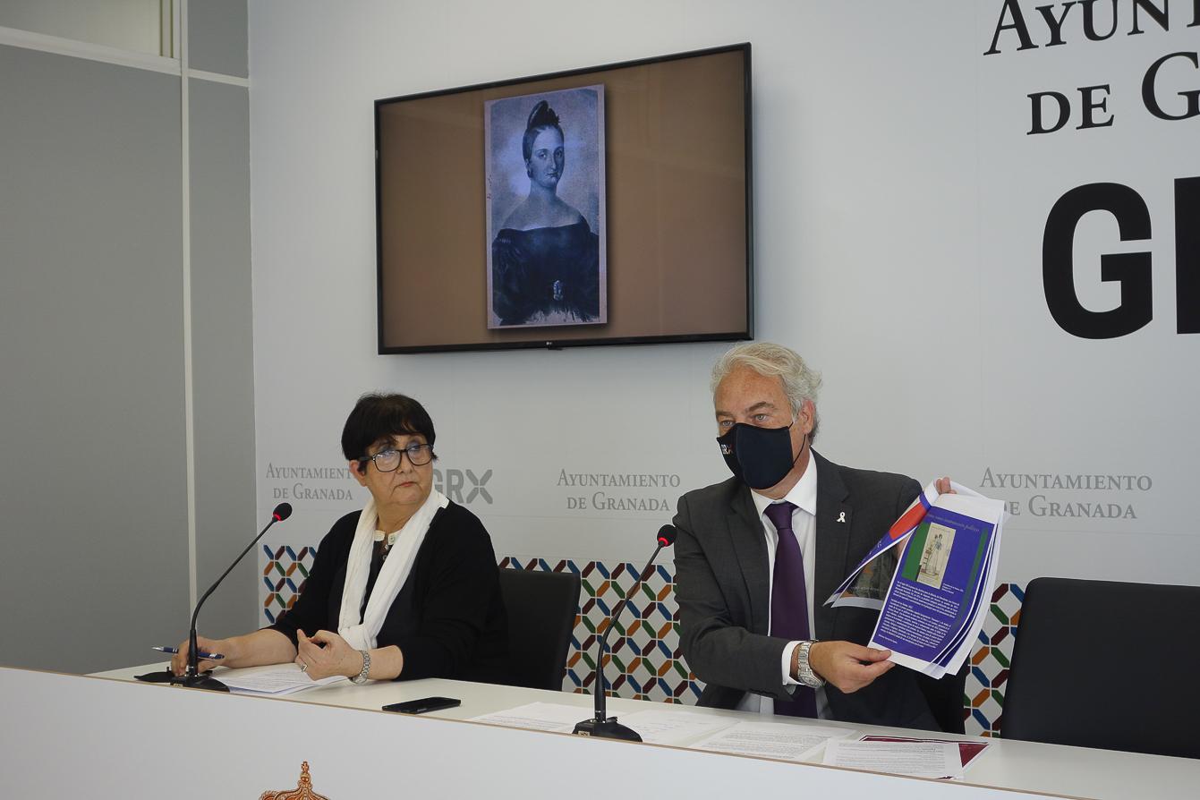 Un homenaje, exposiciones y teatro recuerdan el 190 aniversario de la ejecución de Mariana Pineda