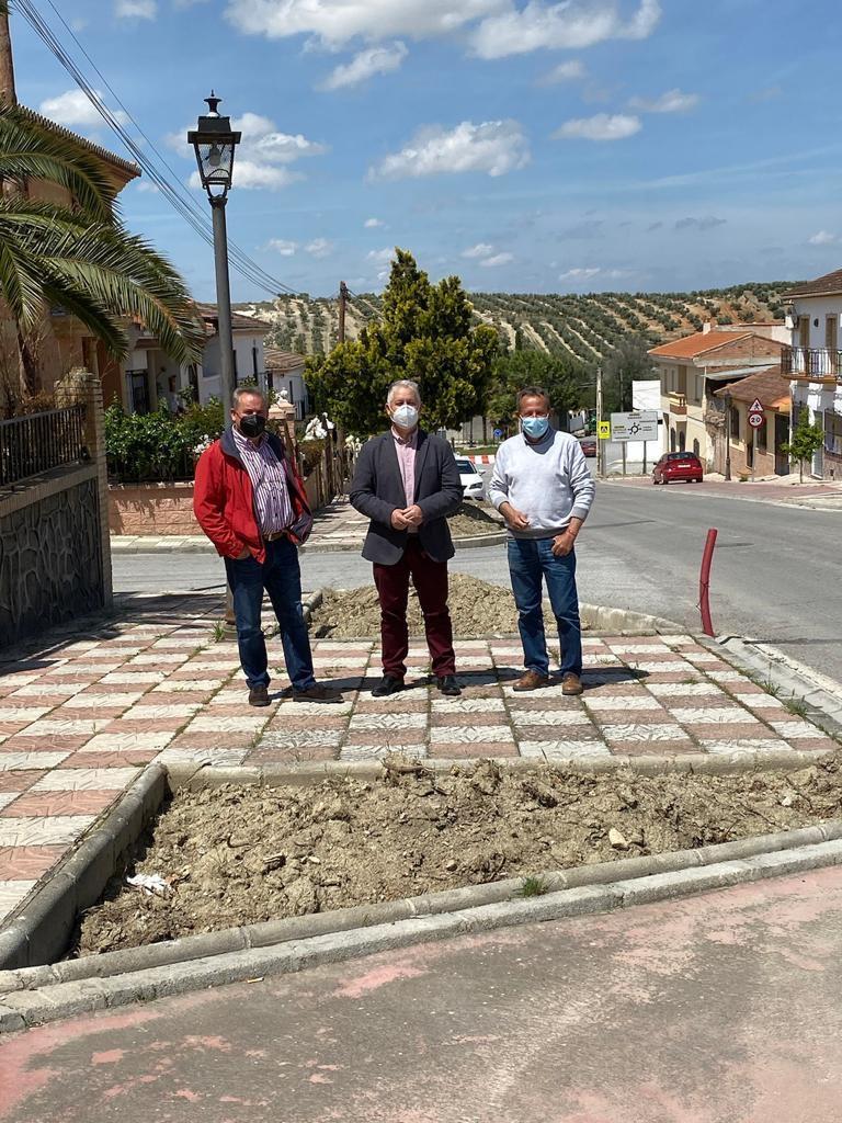 Diputación destina 120.000 euros a la mejora de la travesía de Chimeneas