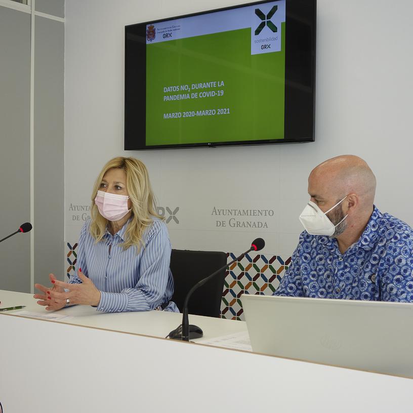 Mejora la calidad del aire en Granada al reducirse un 31% el dióxido de hidrógeno en el primer trimestre