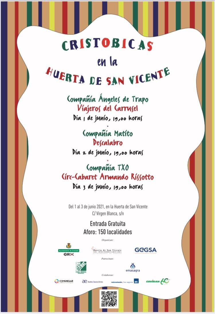 La verbena 'Cristobicas en la Huerta' conmemorará el nacimiento de Federico García Lorca y la celebración del Corpus