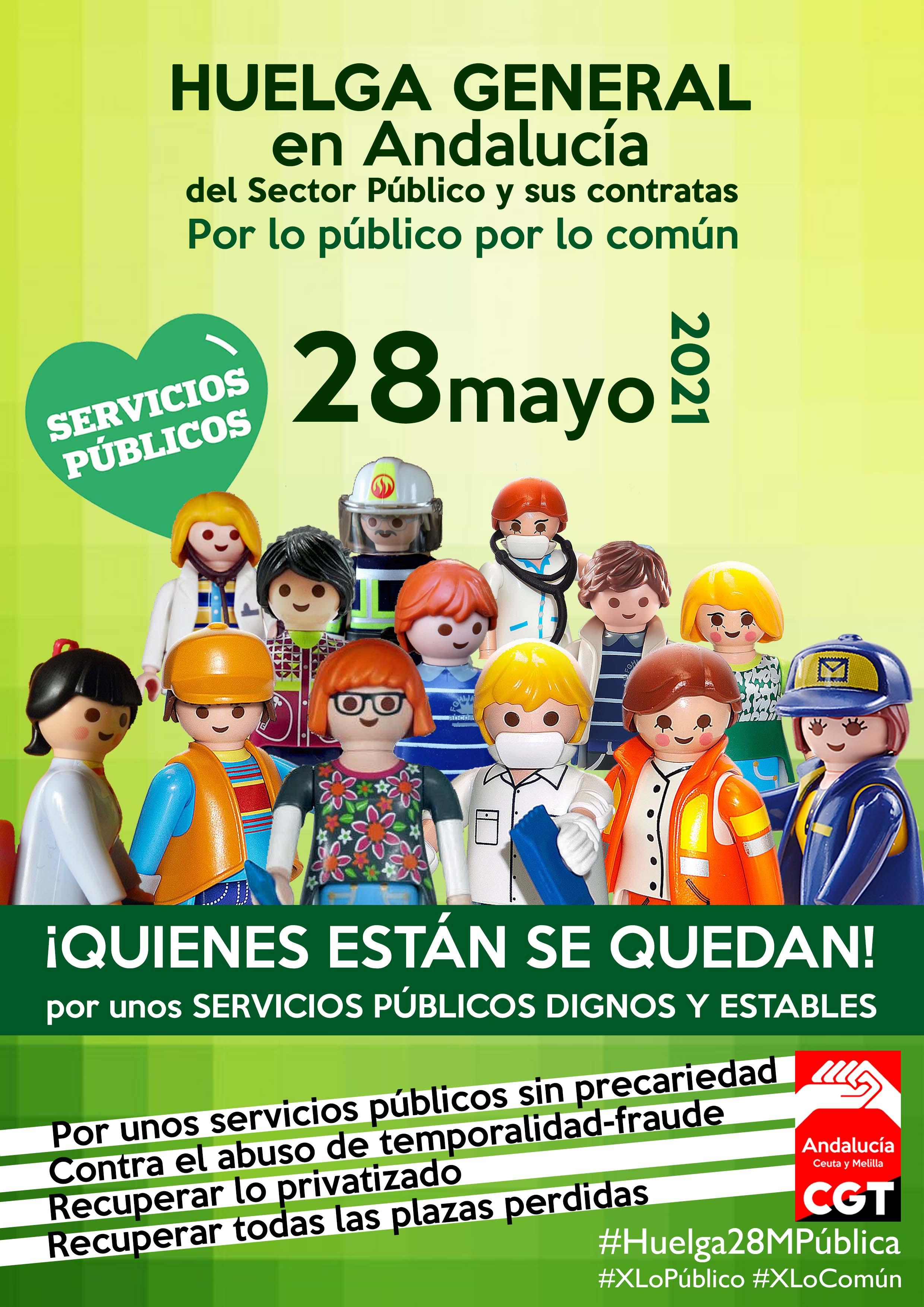 CGT convoca una huelga de 24 horas en el sector público para el 28 de mayo