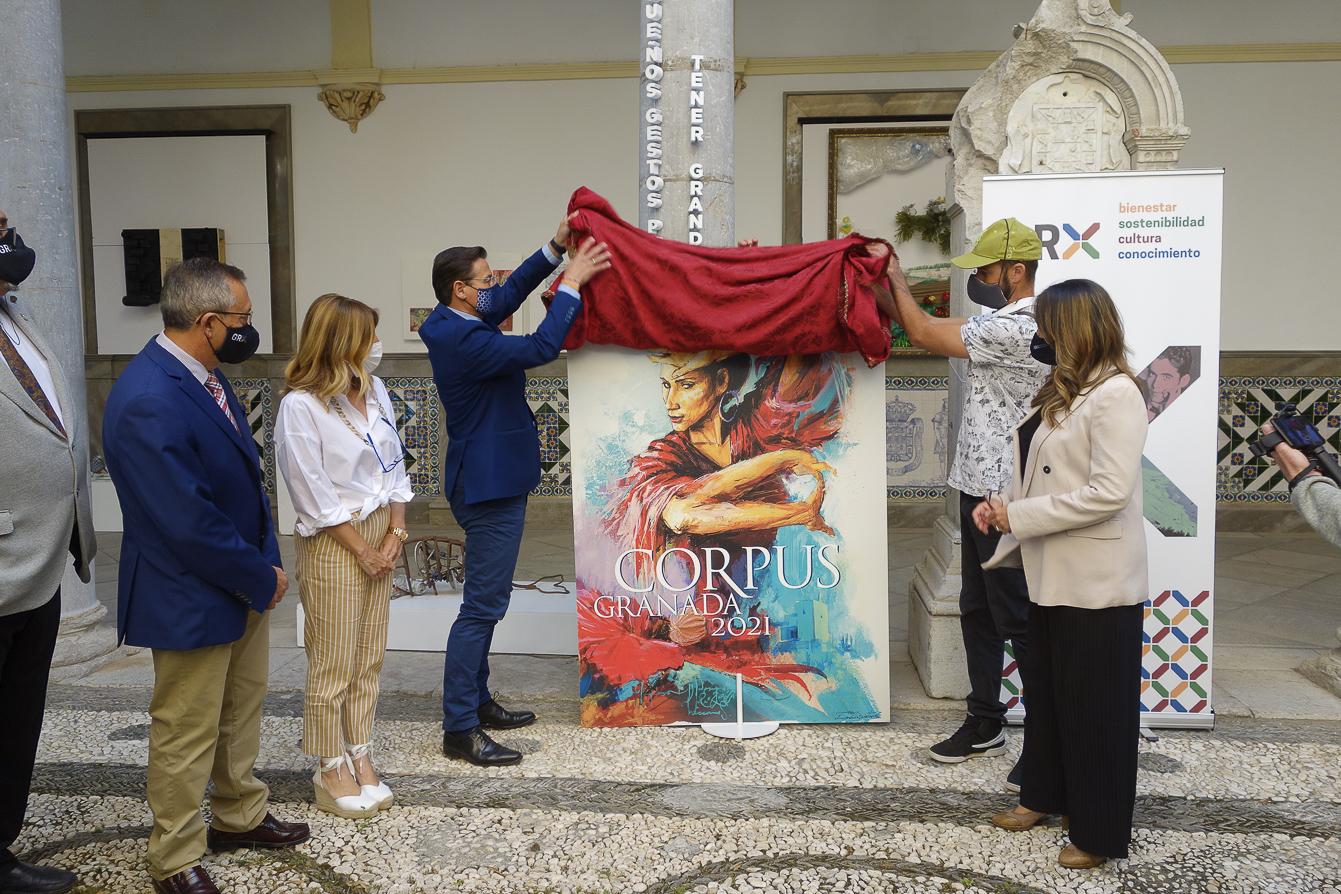 El Niño de las Pinturas firma el cartel del Corpus 2021