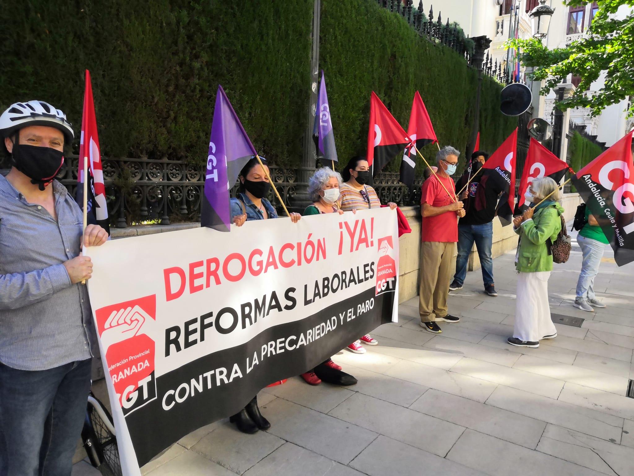 CGT exige al Gobierno de PSOE y Unidas Podemos la derogación de las Reformas laborales de Rajoy y Zapatero