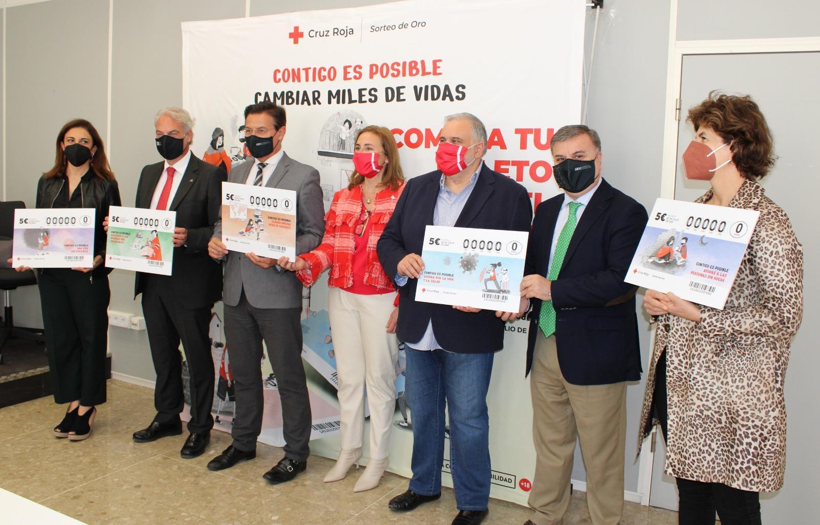 Presentado el sorteo de Cruz Roja previsto para el 22 de julio con 7 millones en premios