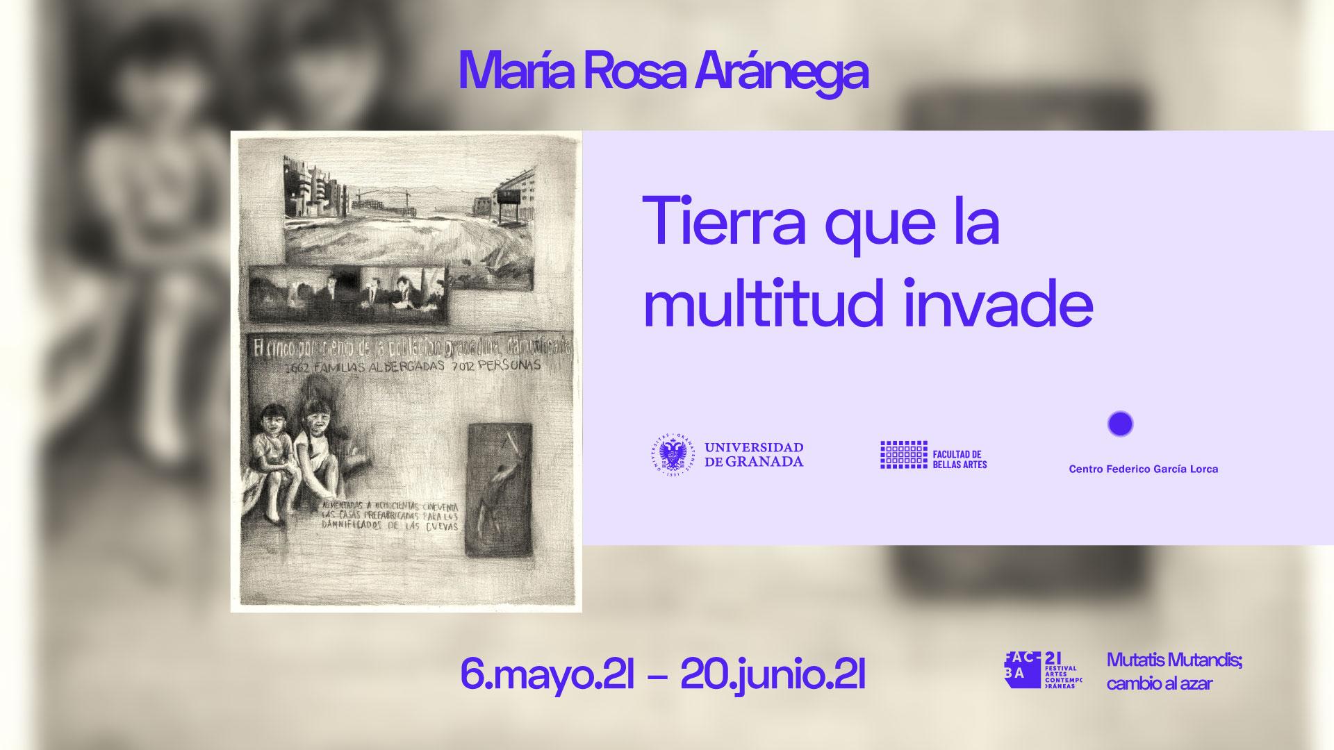 La memoria de los barrios de Granada durante el desarrollo de la ciudad el siglo pasado se expone en el Centro Federico García Lorca de la mano de FACBA y de María Rosa Aránega