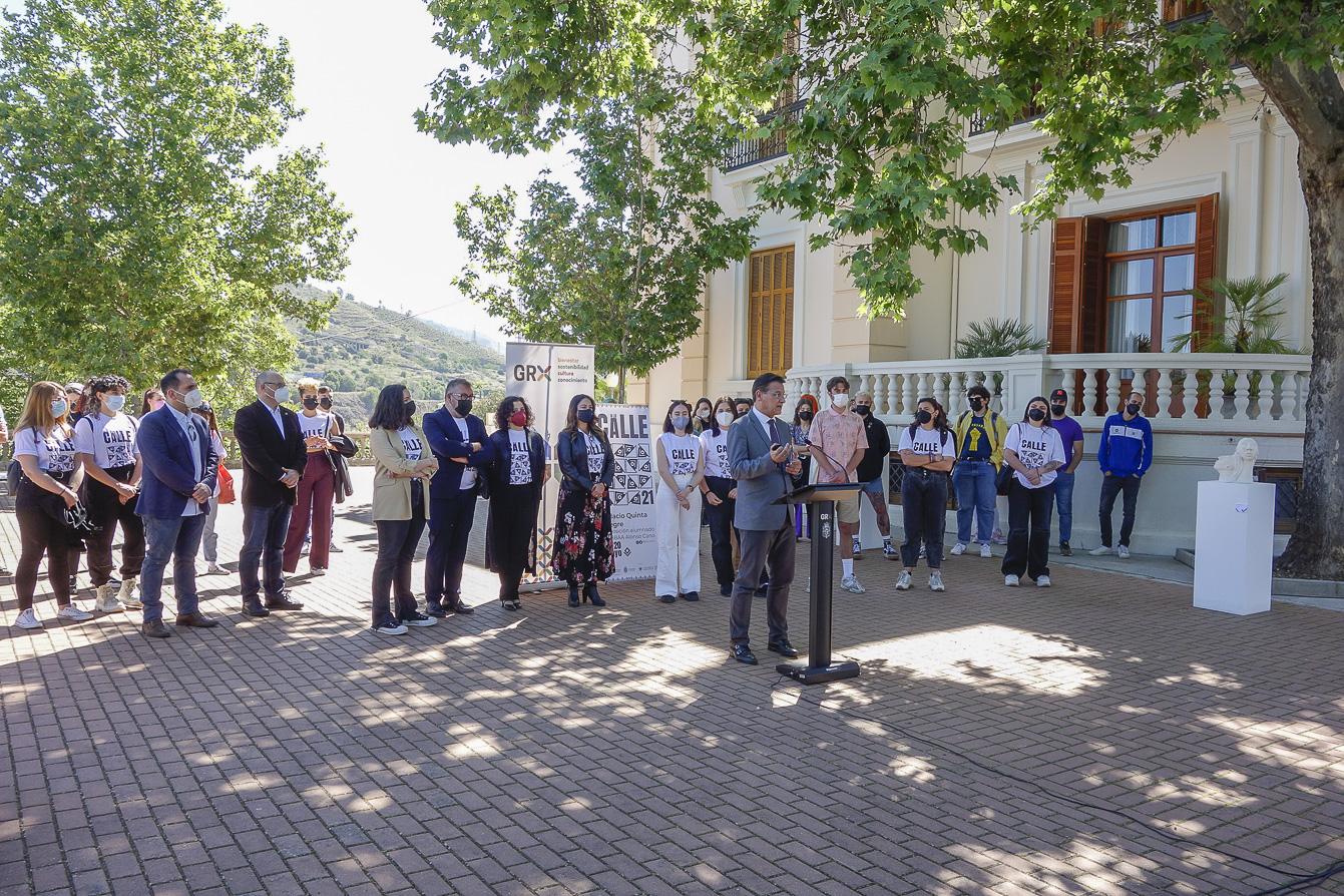 El Palacio de Quinta Alegre acoge la exposición de arte contemporáneo 'A la calle 21'