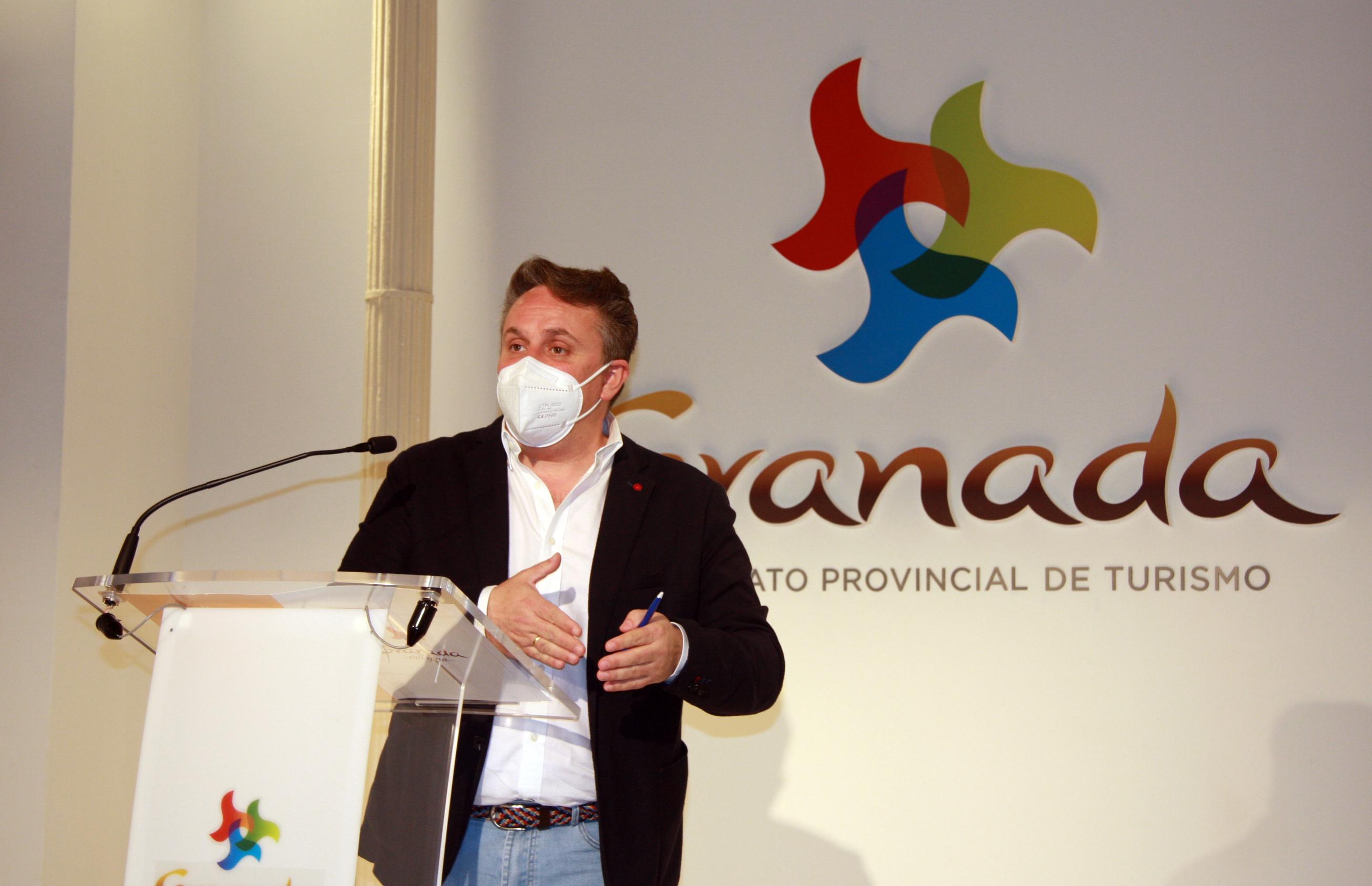 El Patronato de Turismo de Granada confía en recuperar la normalidad en el sector tras la actividad promocional en Fitur