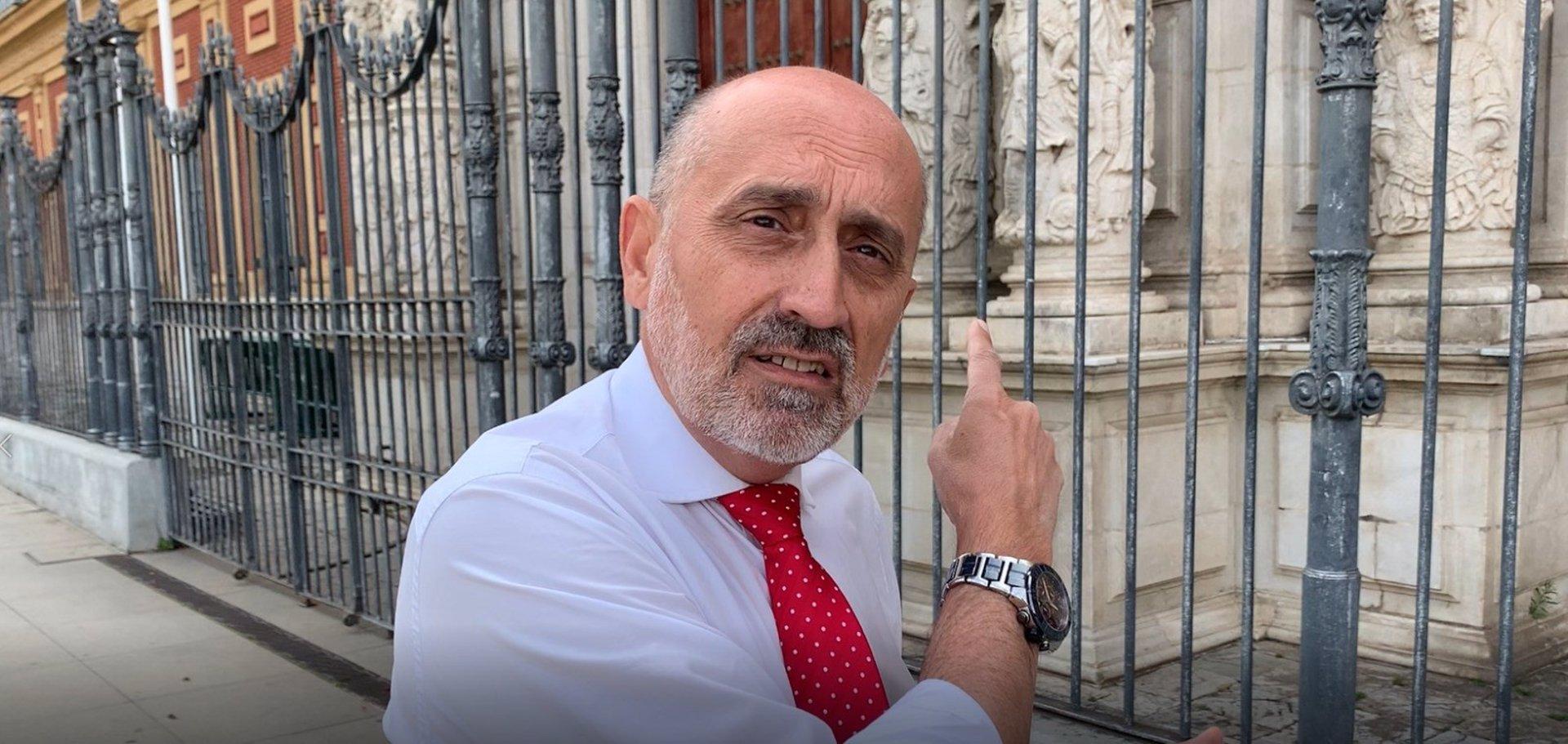 Luis Ángel Hierro apela al PSOE-A de «base» para dar un cambio «drástico» y conseguir el Gobierno de la Junta