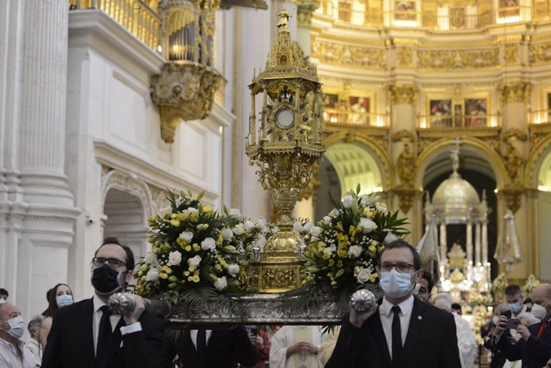 La procesión del Jueves de Corpus se hará este año en el interior de la Catedral como el año pasado