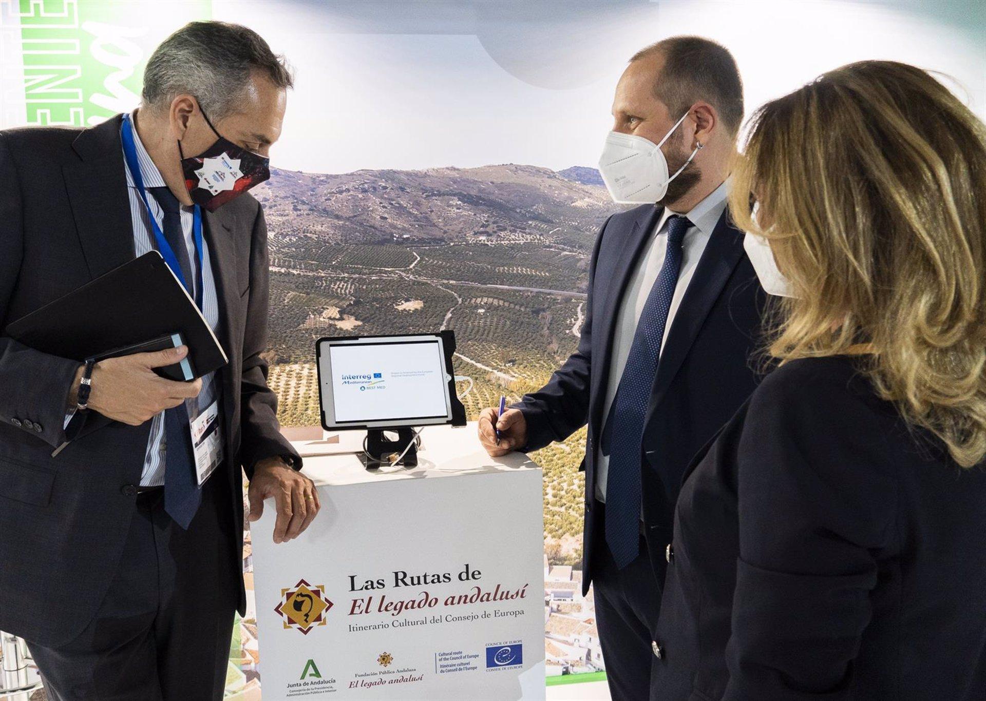El Legado Andalusí completa su presencia en Fitur con la Ruta de las Alpujarras como protagonista