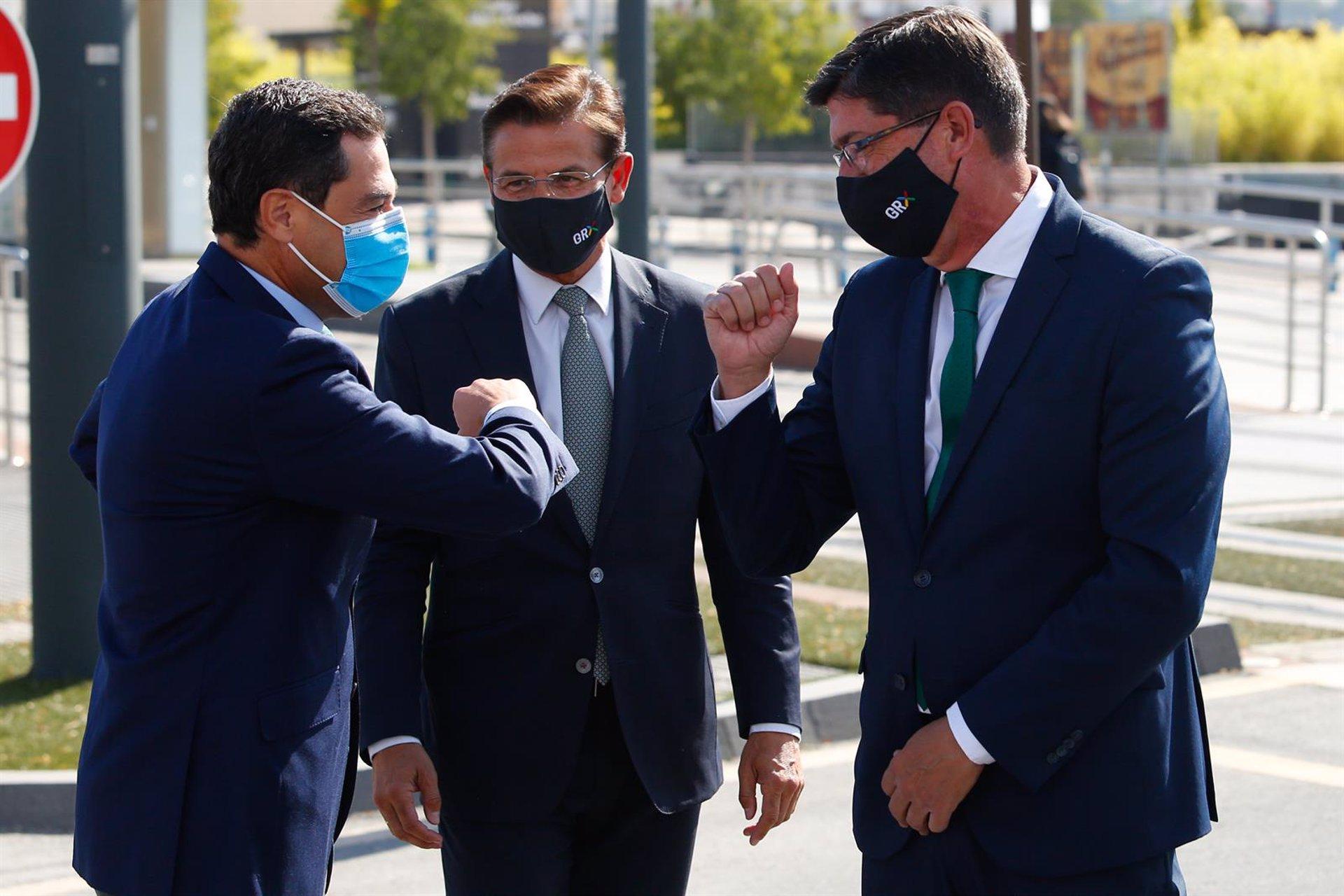 Marín: Cs «no baraja la posibilidad de que Granada cambie de alcalde porque no está en ningún acuerdo»