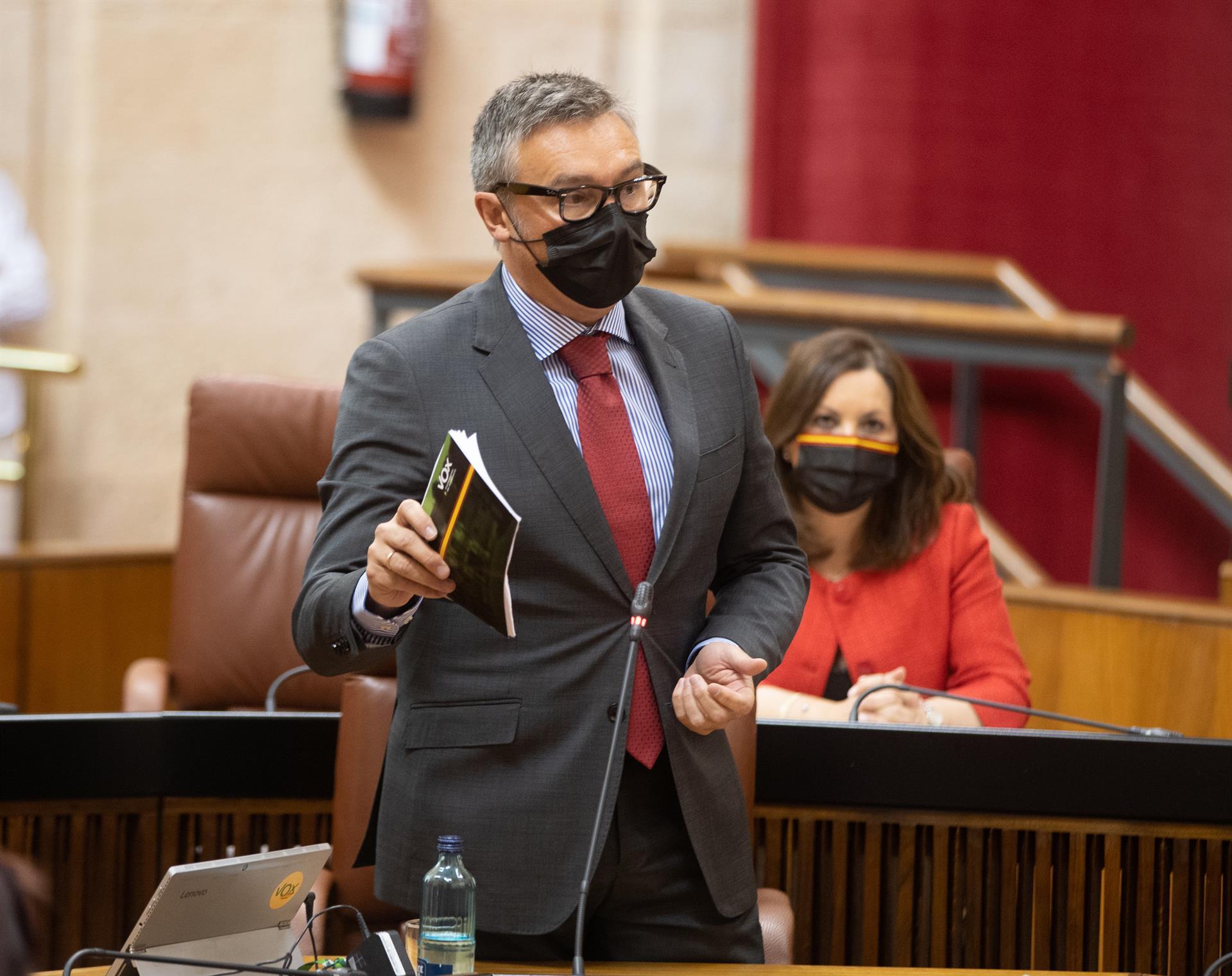 Vox plantea a la Junta «reconducir las relaciones y que cumpla los acuerdos si quiere agotar la legislatura»