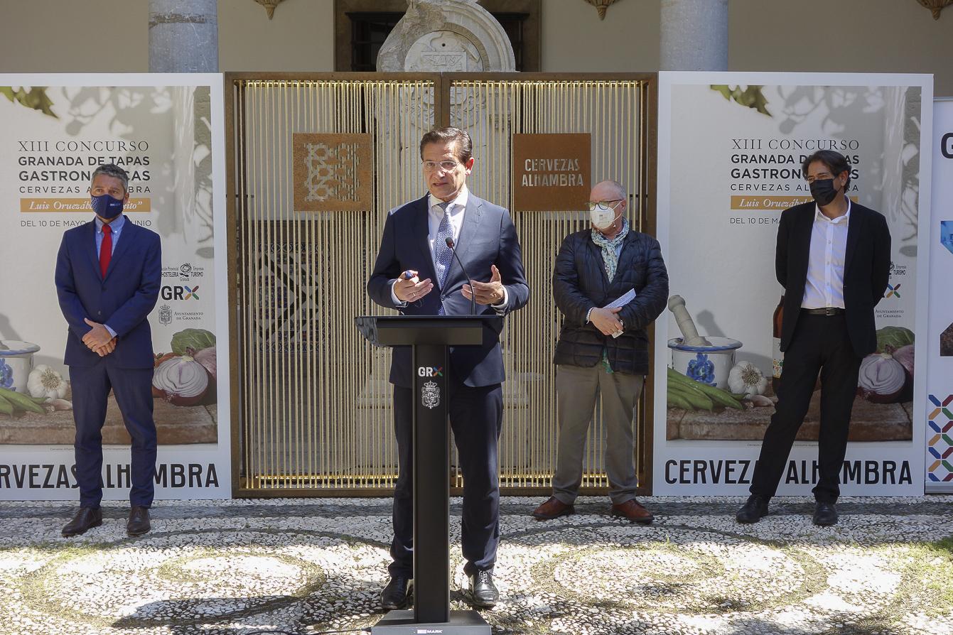 El Concurso Granada de Tapas Gastronómicas de celebrará del 10 de mayo al 10 de junio