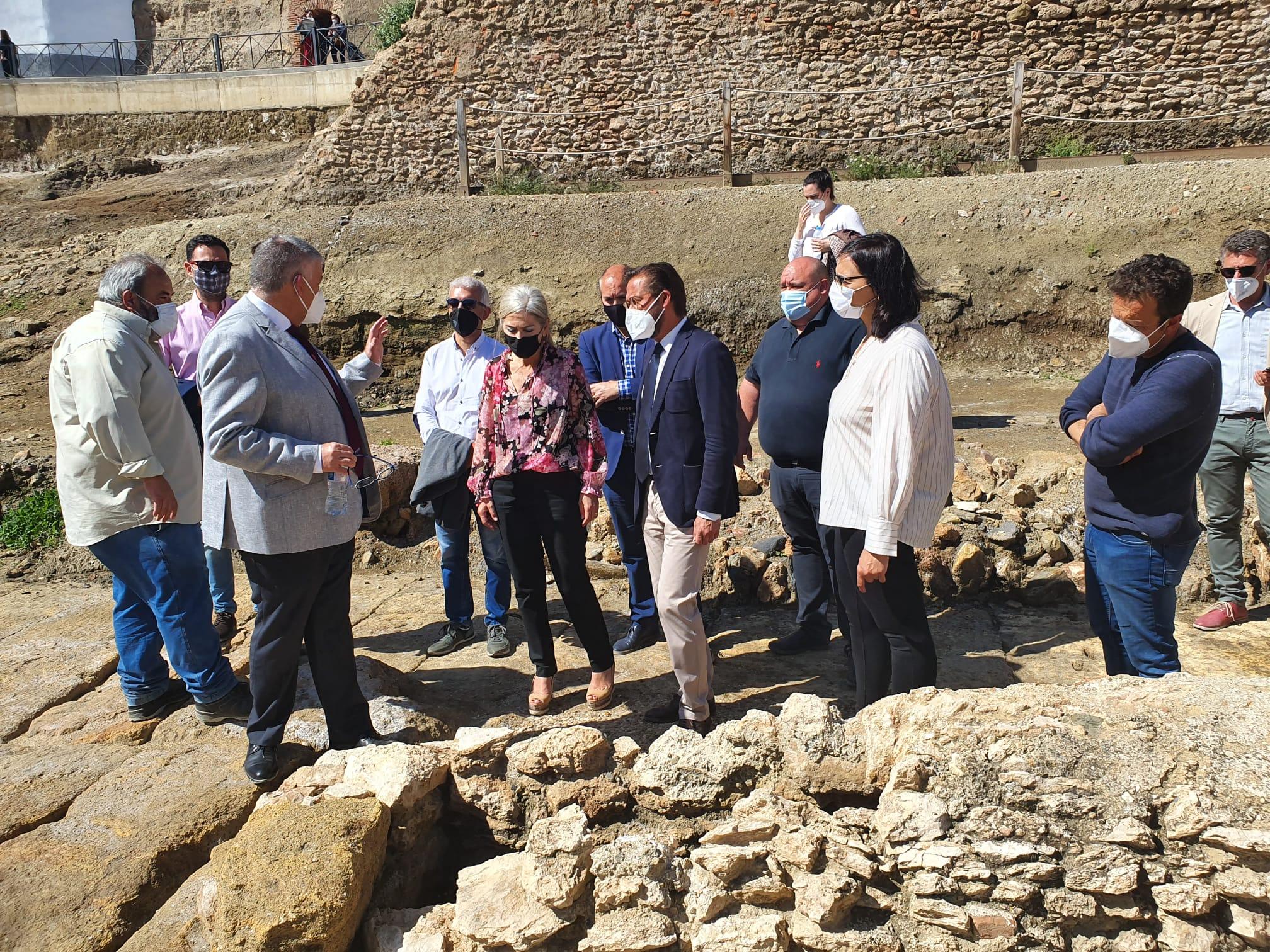 La Junta invierte 280.000 euros en restauraciones y excavaciones en el Teatro Romano de Guadix