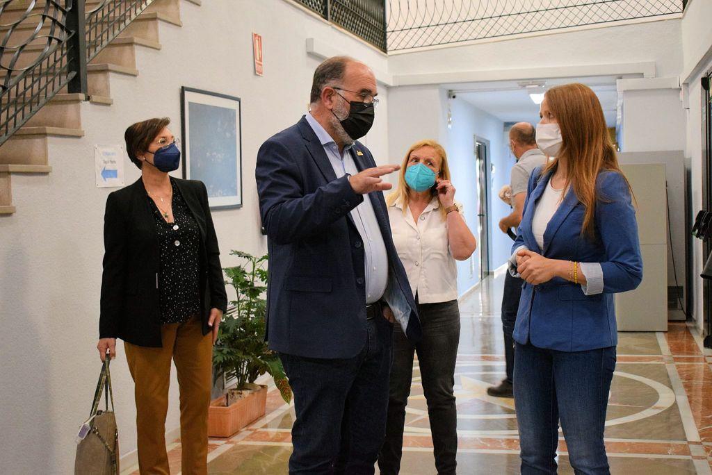 """Ocaña destaca el """"salto tecnológico y el alentador horizonte empresarial"""" de Albolote gracias al """"trabajo coordinado"""" de Cs"""
