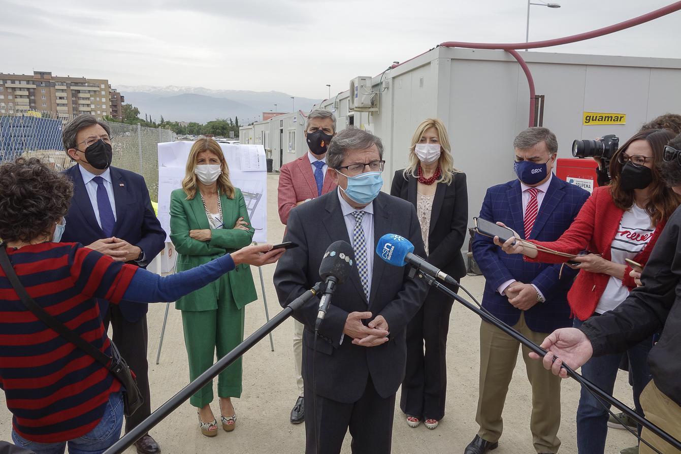 Granada contará con un «pulmón verde» de 42.000 metros muy cerca de la autovía