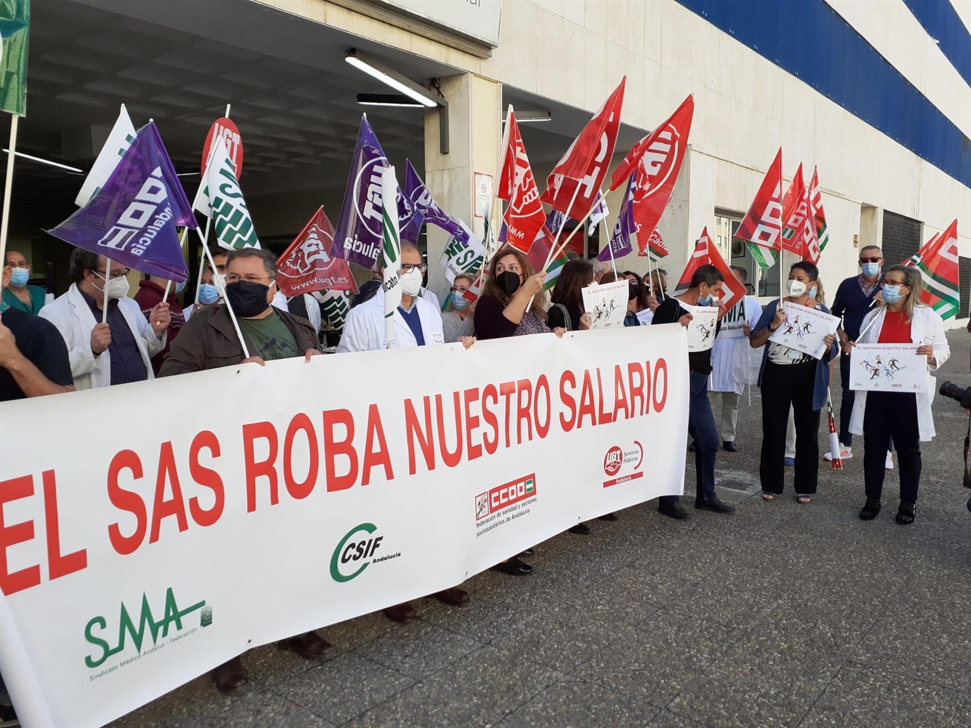 Sindicatos convocan nuevas movilizaciones el 18 de mayo para exigir al SAS el pago de la productividad íntegra de 2019