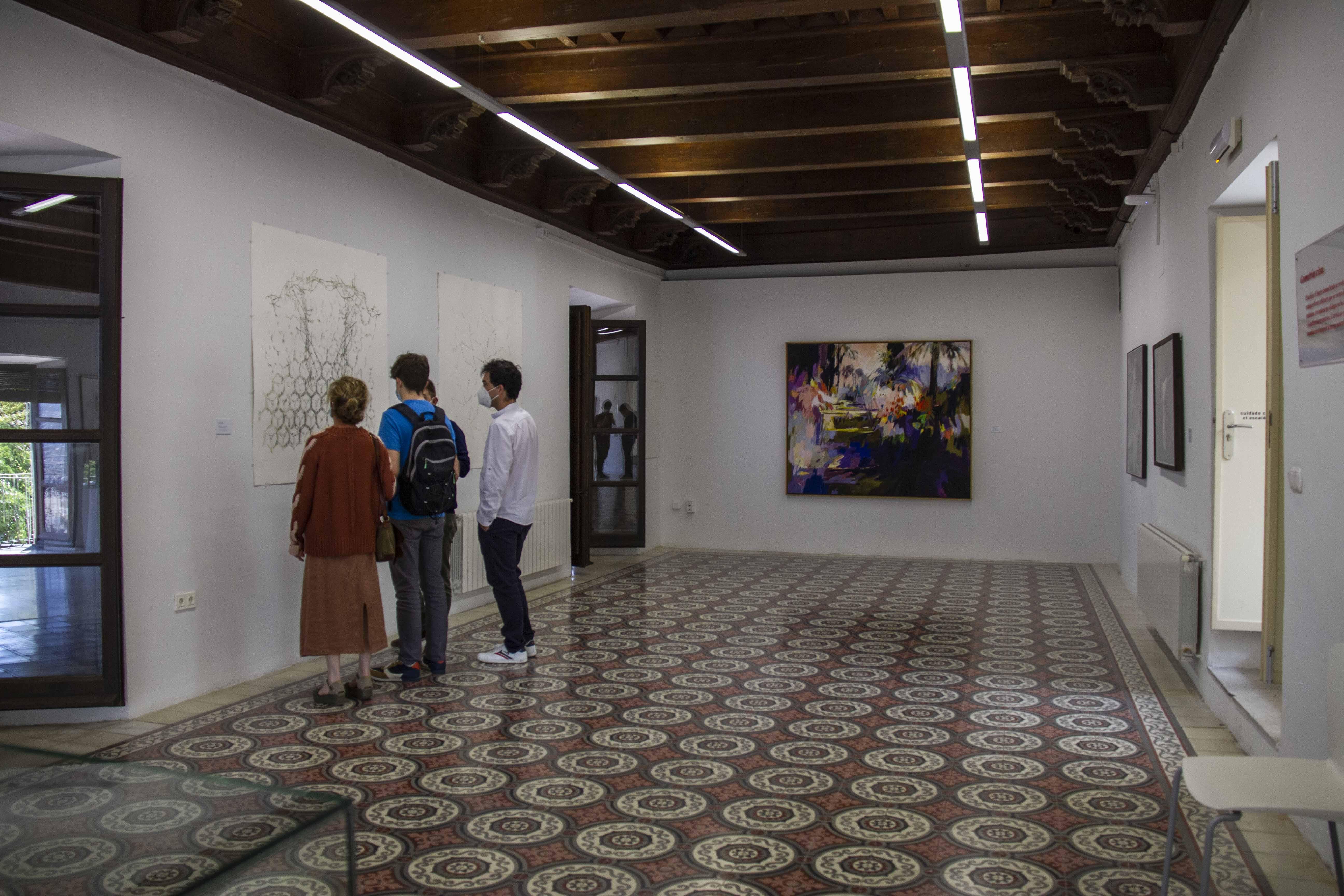 'Granada, jardín abierto', la gran exposición en torno a uno de los espacios más relevantes en la cultura granadina, ya se puede visitar en el Palacio del Almirante
